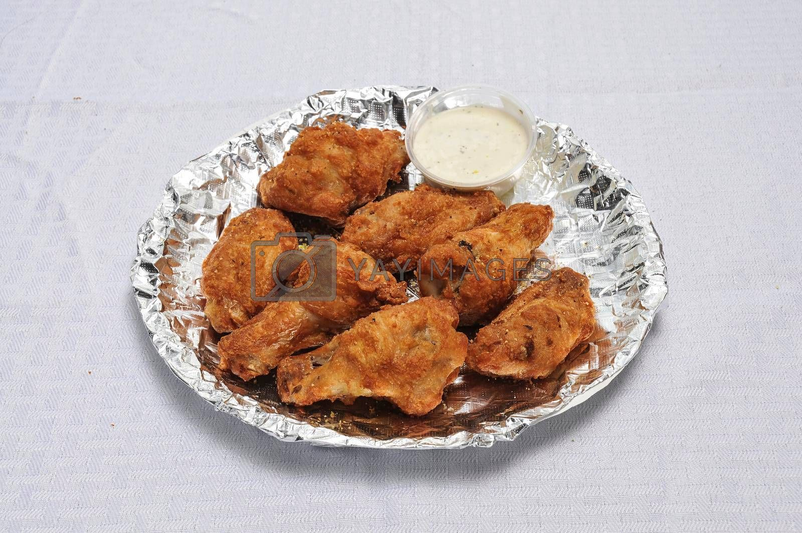 Royalty free image of Delicious Chicken Wings by robeo