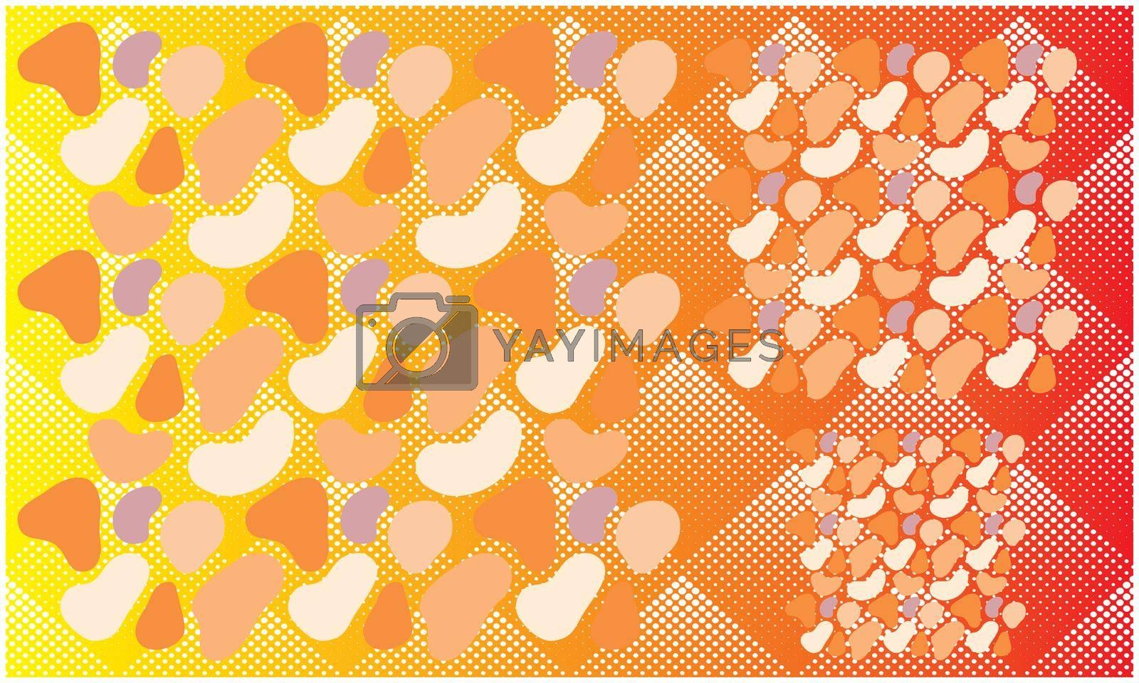 Royalty free image of Collection of stone and pebel on abstract square background by aanavcreationsplus