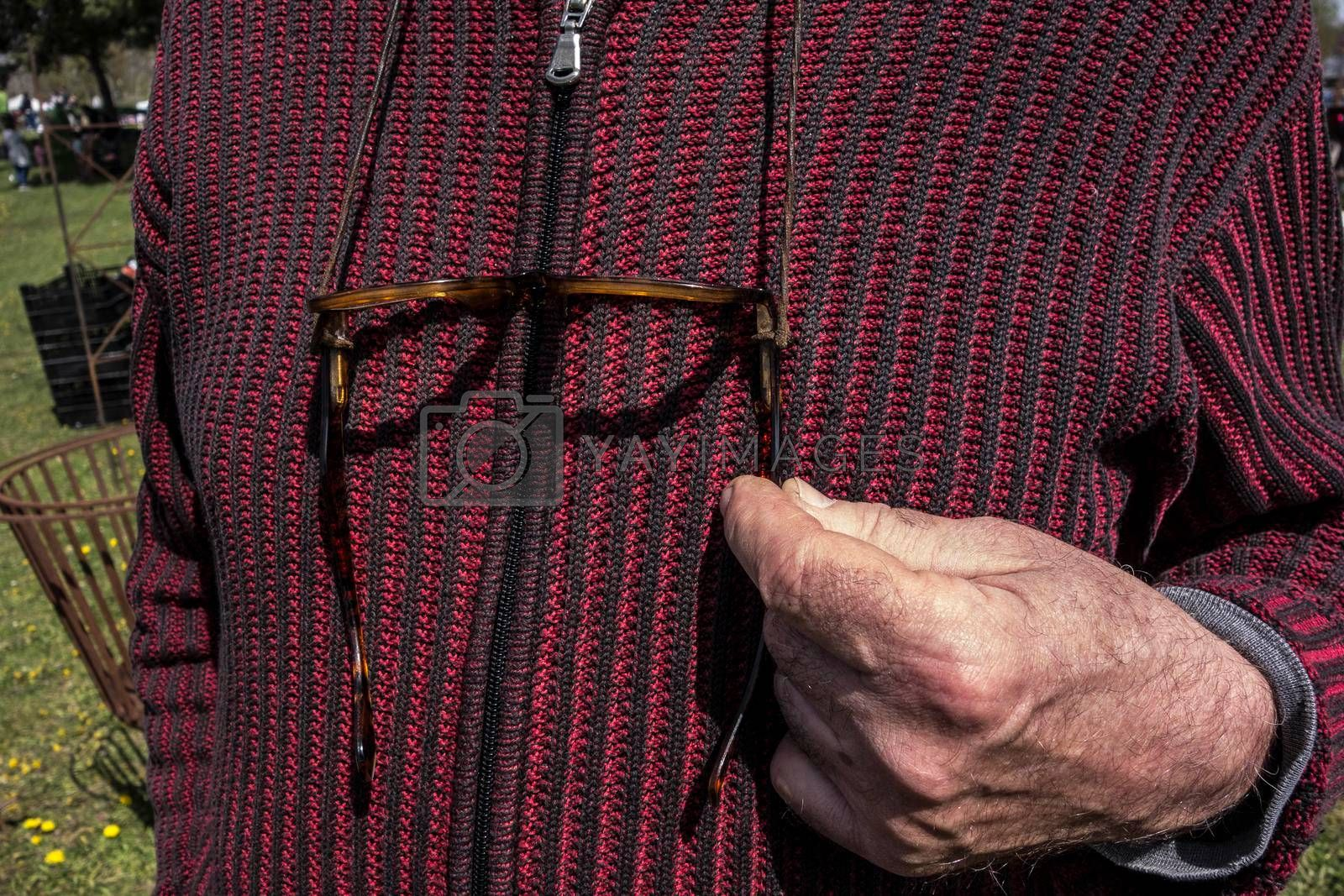 reading glasses for the shortsighted or nearsighted and old people