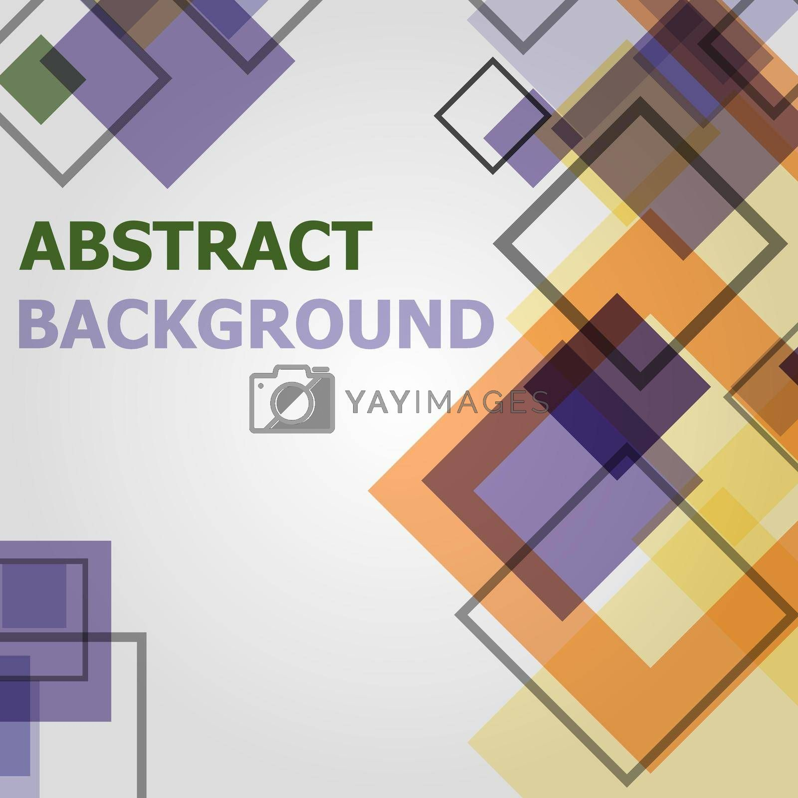 Royalty free image of Abstract minimal geometric pattern design background by punsayaporn