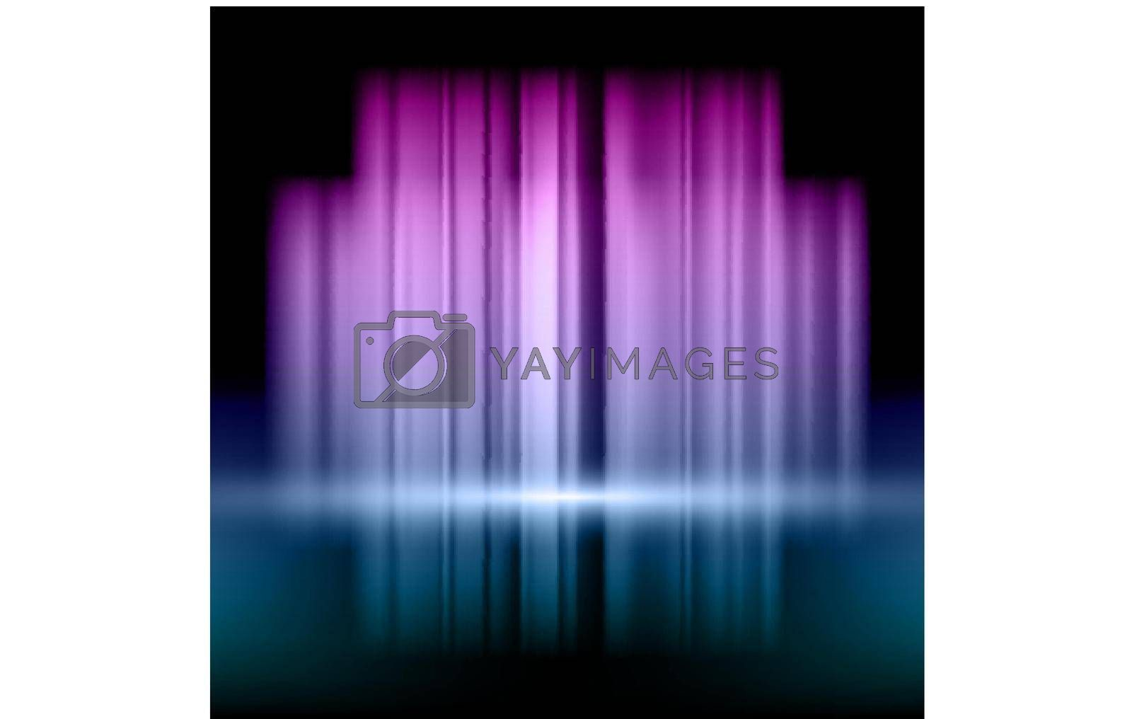 Royalty free image of Abstract background with pink and blue lights by punsayaporn