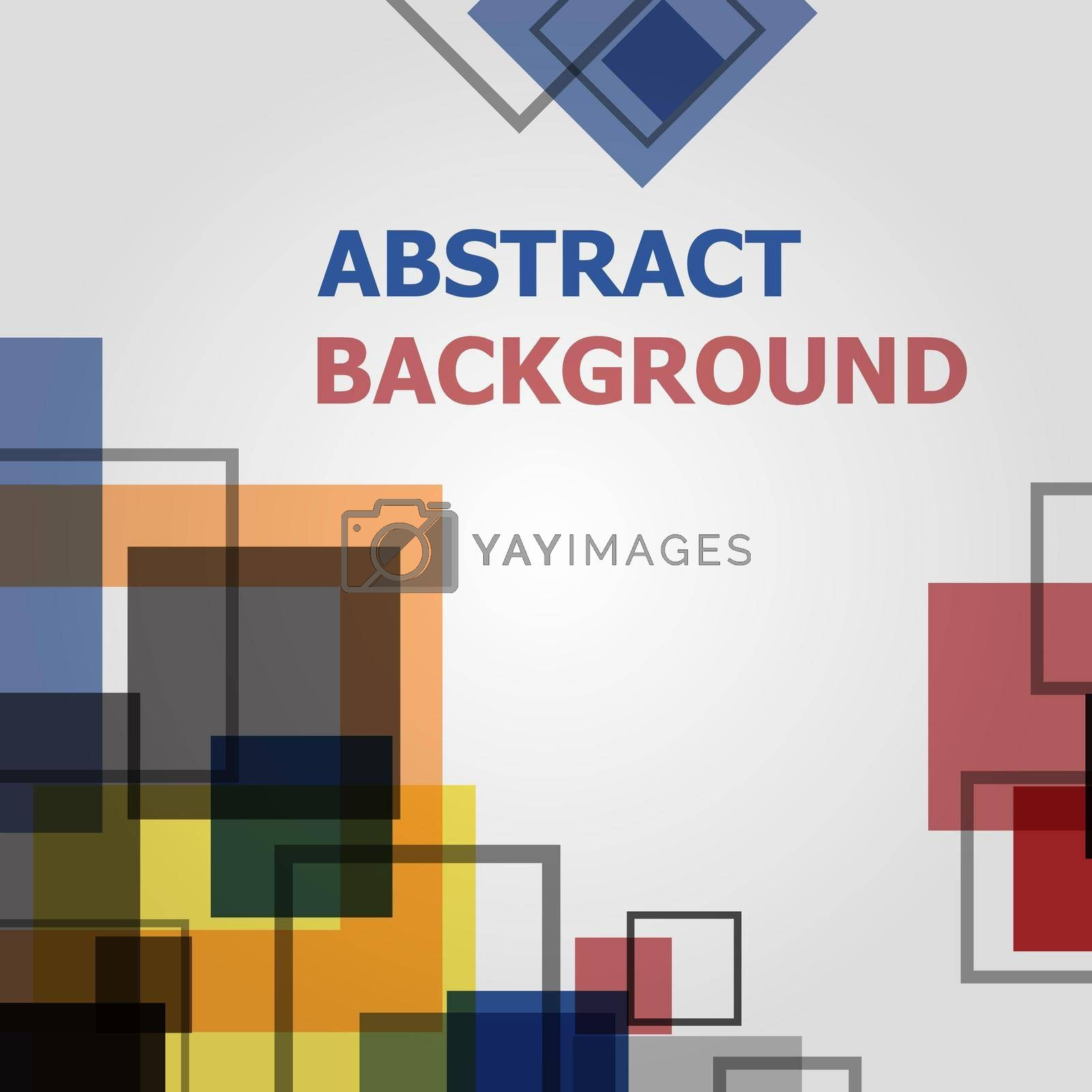 Royalty free image of Abstract minimal geometric pattern design by punsayaporn