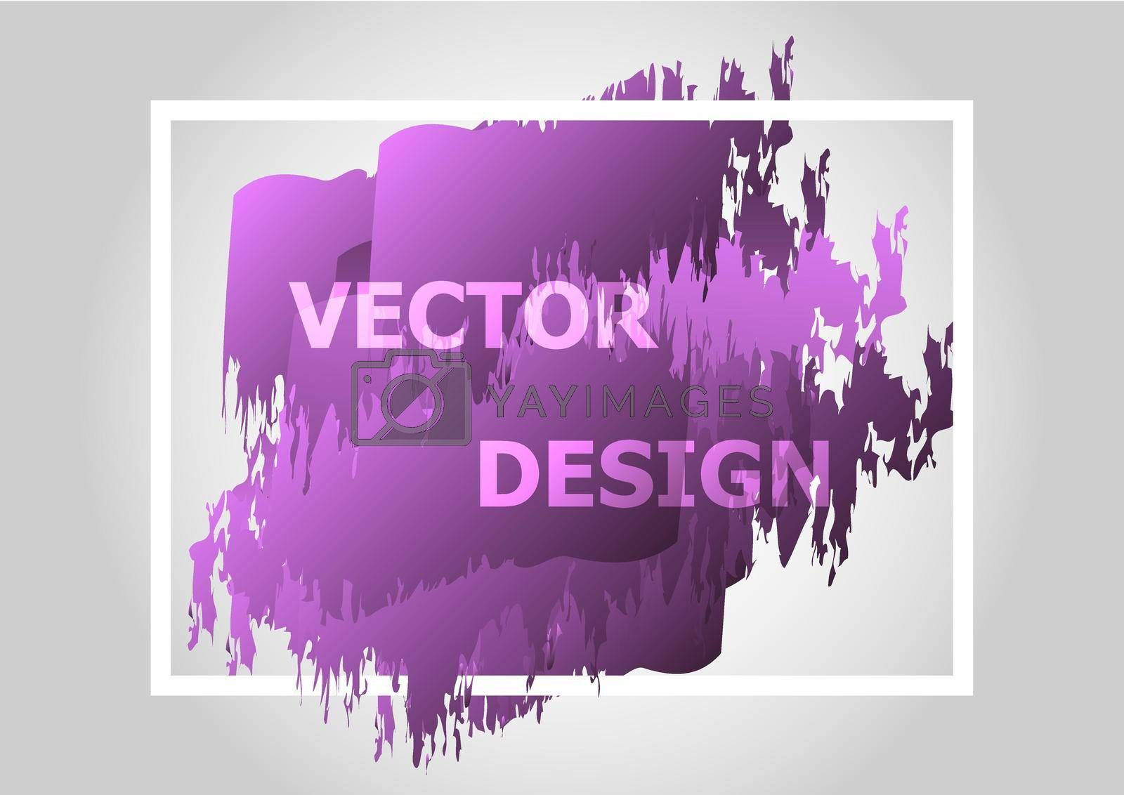 Royalty free image of Abstract background with purple gradient by punsayaporn
