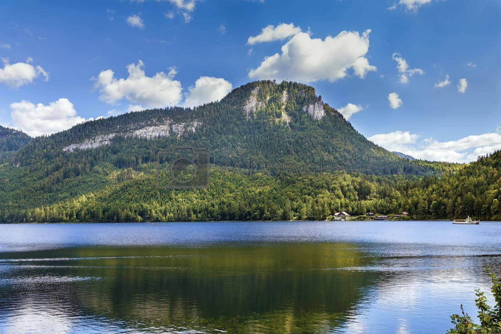Royalty free image of Altaussee in Styria, Austria by borisb17