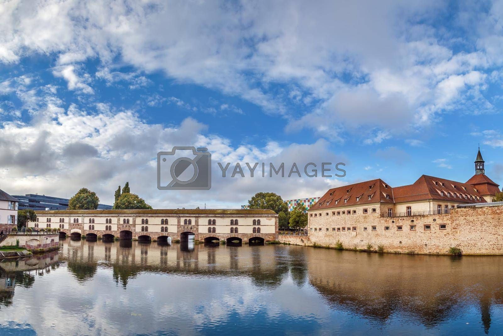 Royalty free image of Barrage Vauban,  Strasbourg, France by borisb17