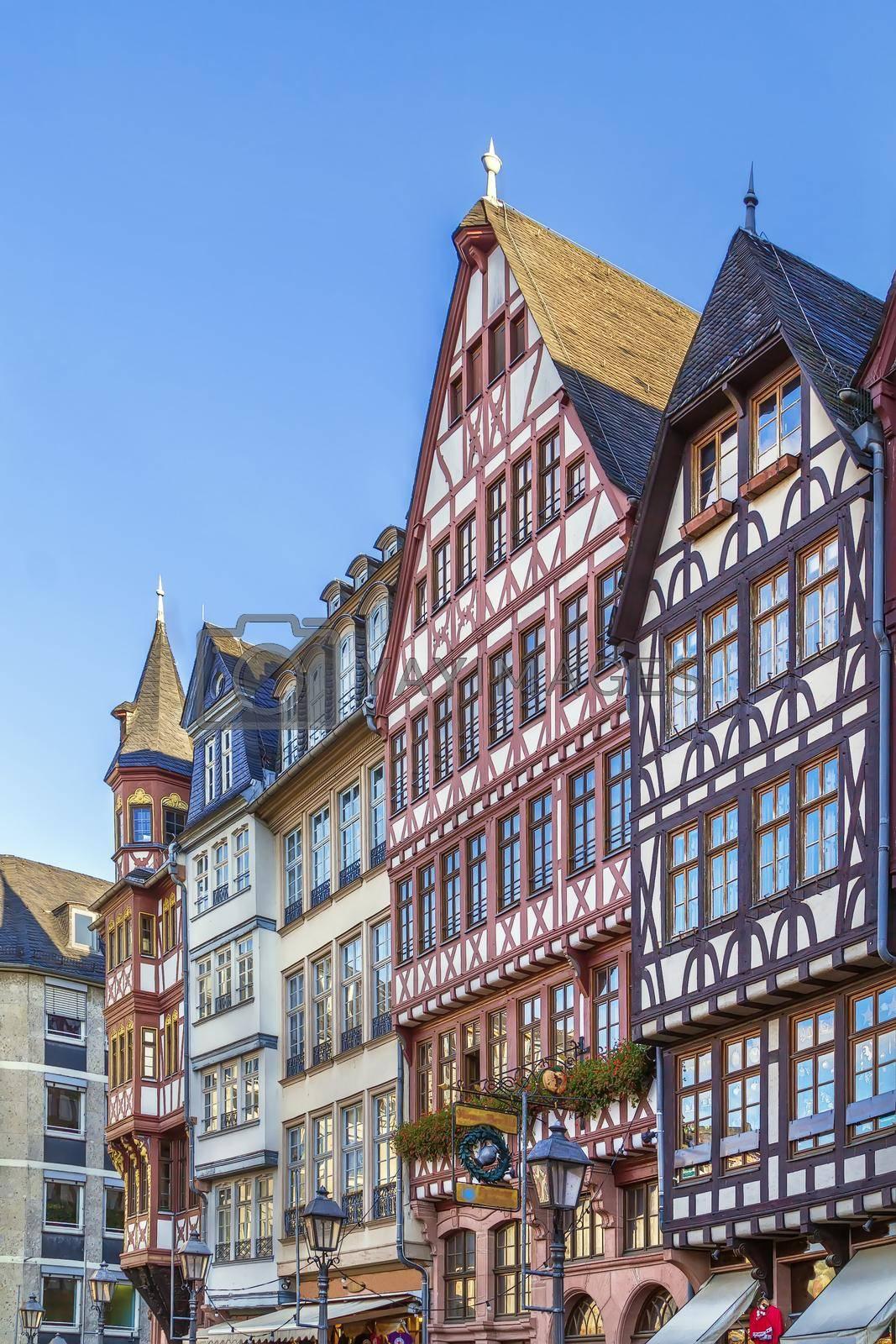 Royalty free image of Romerberg square, Frankfurt, Germany by borisb17