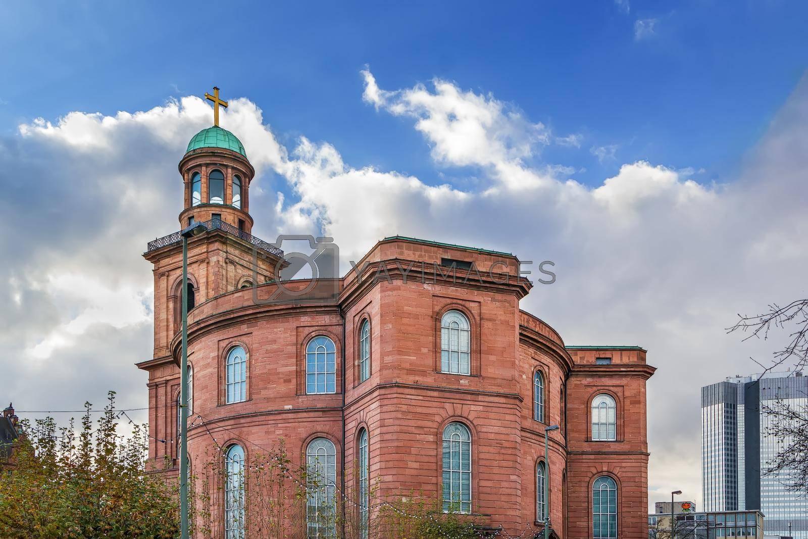 Royalty free image of St. Paul's Church, Frankfurt am Main, Germany by borisb17