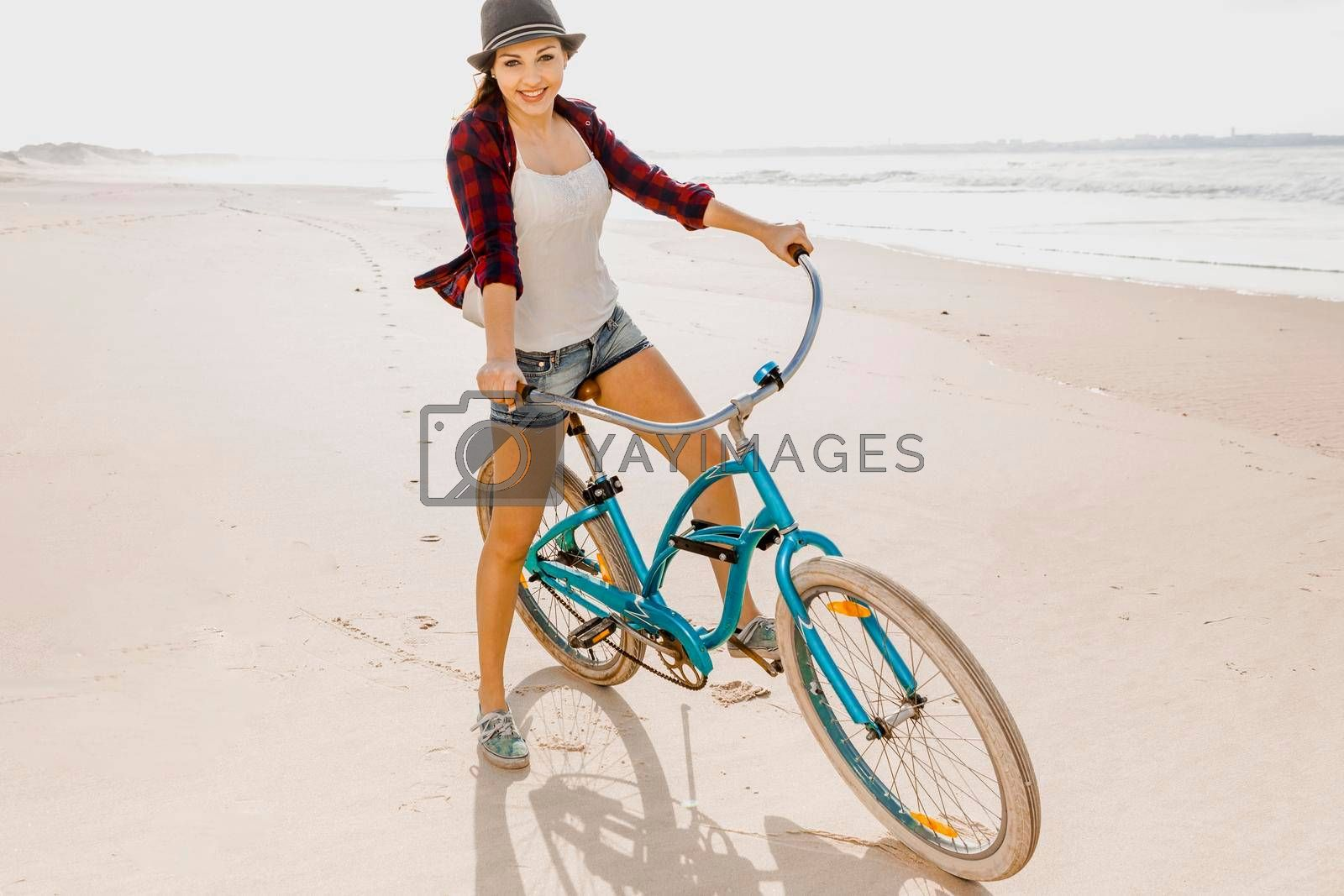 Royalty free image of Have fun on the beach  by Iko