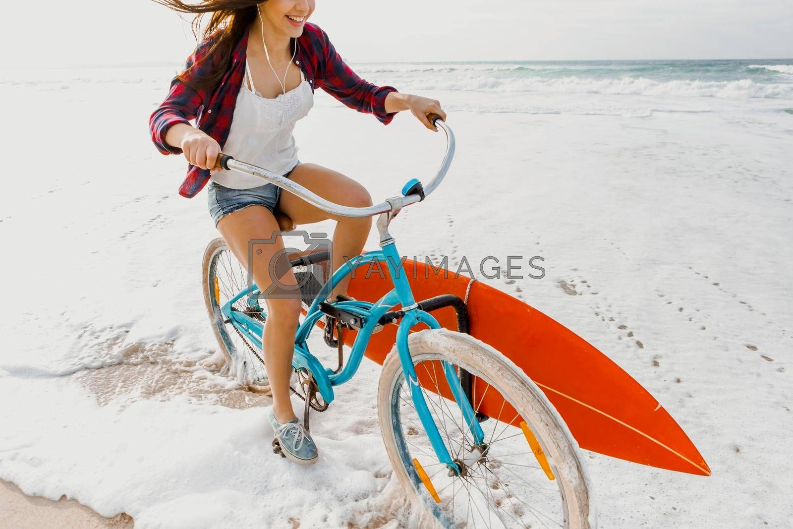 Royalty free image of Going to Surf by Iko