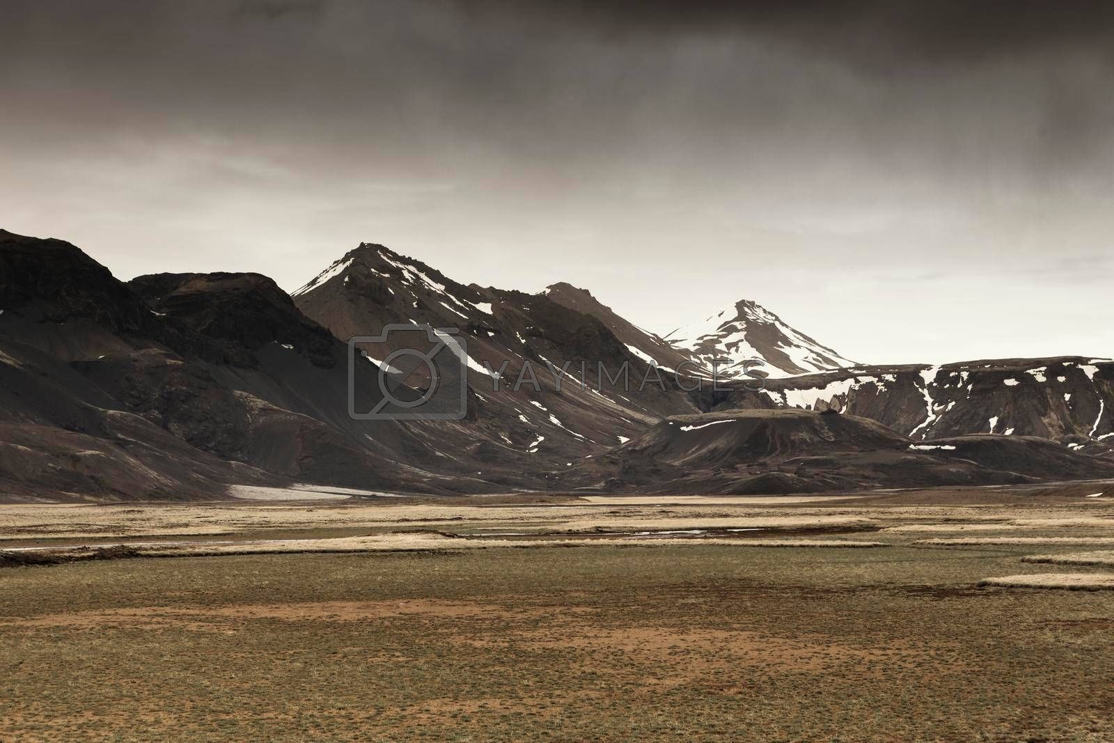 Royalty free image of Iceland Landscape by Iko