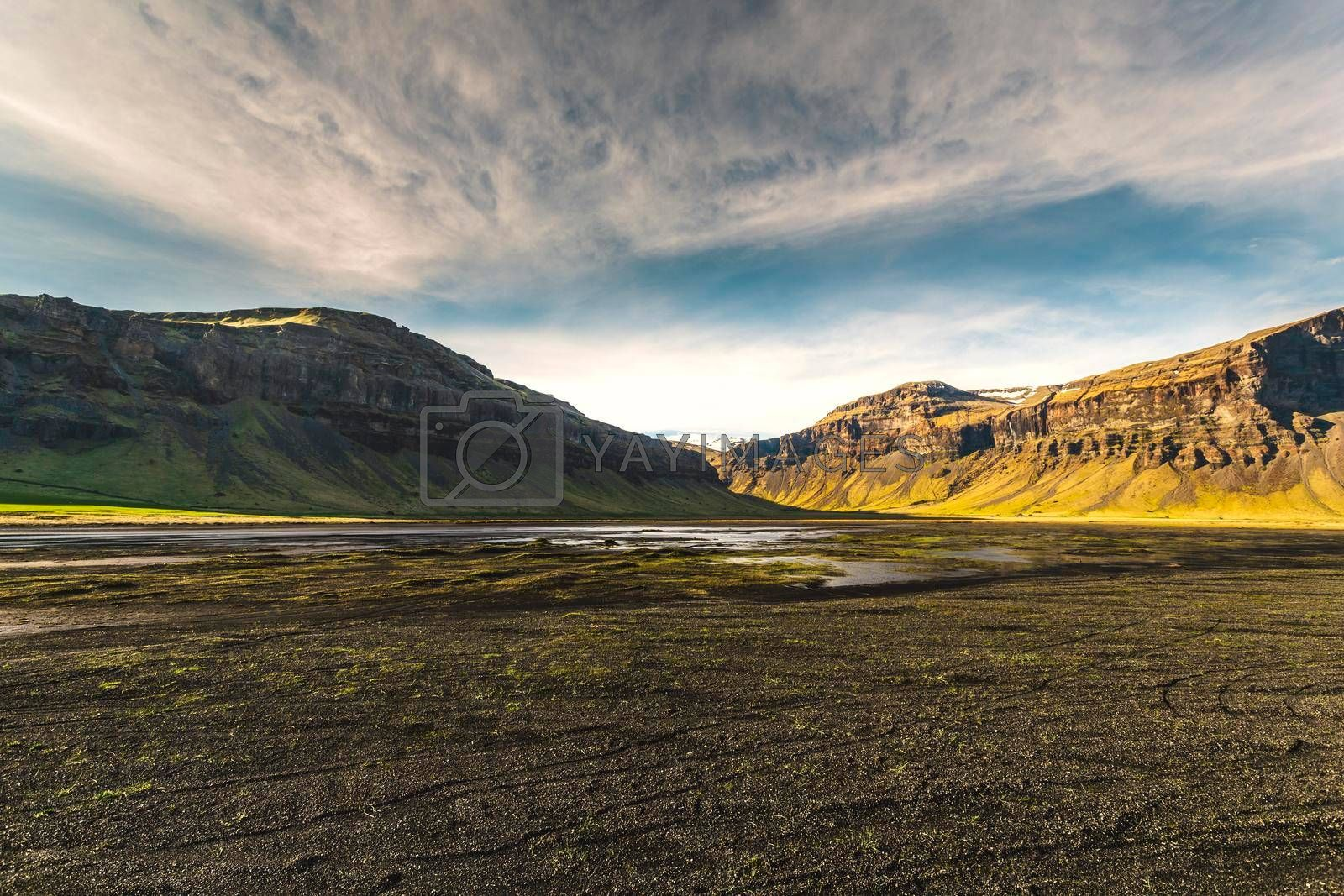 Royalty free image of Endeless nature - Iceland by Iko