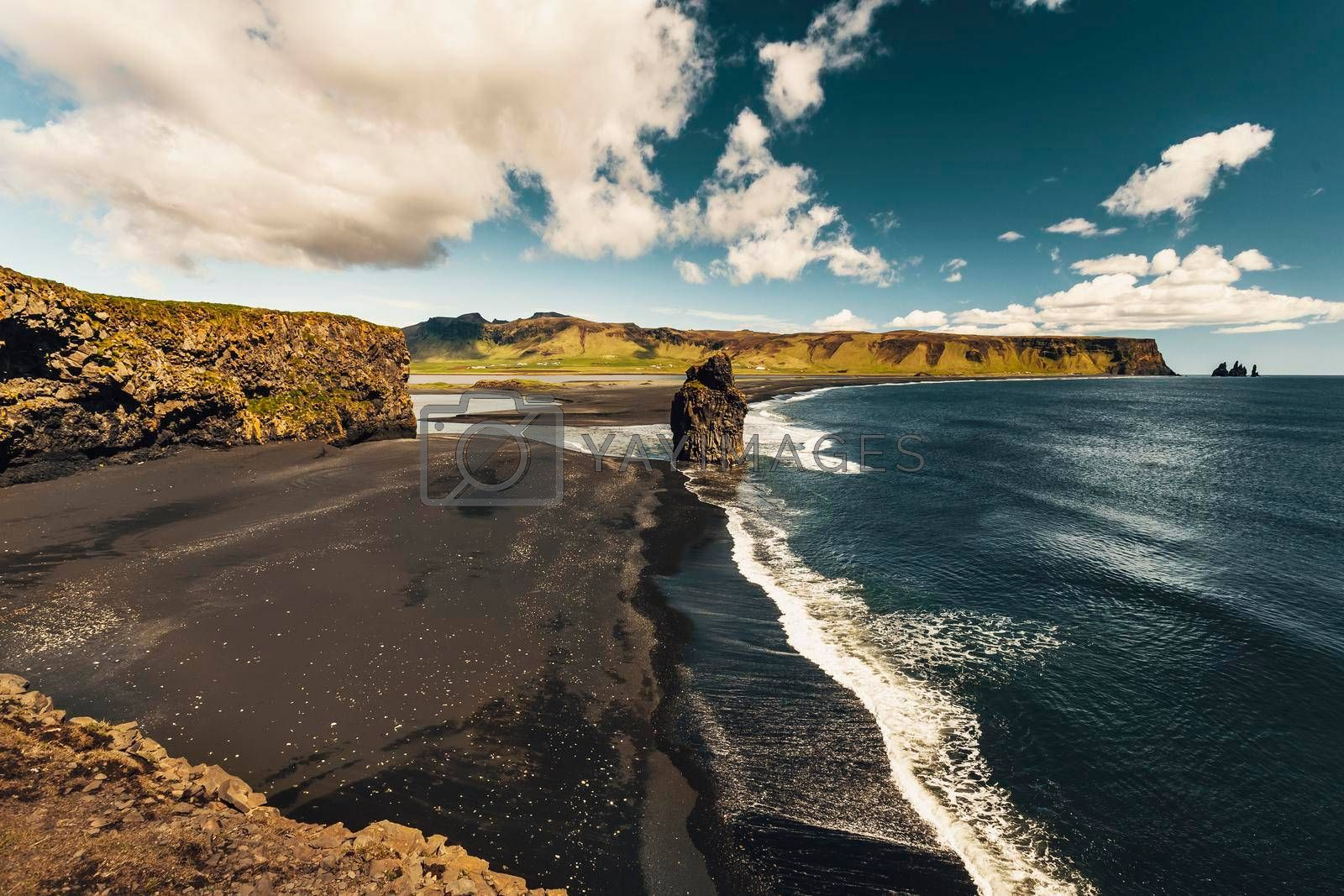 Royalty free image of Suðurland beach by Iko