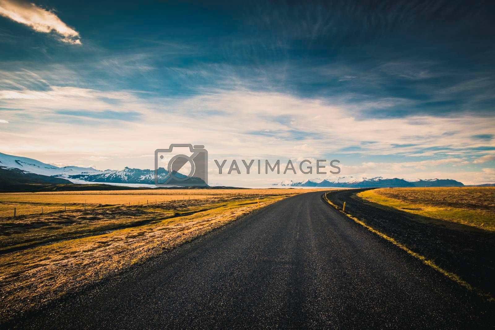 Royalty free image of Endless road by Iko