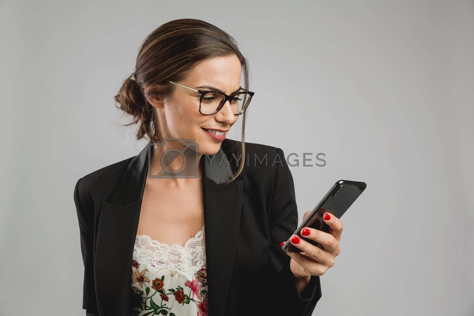 Royalty free image of Cheking my messages by Iko