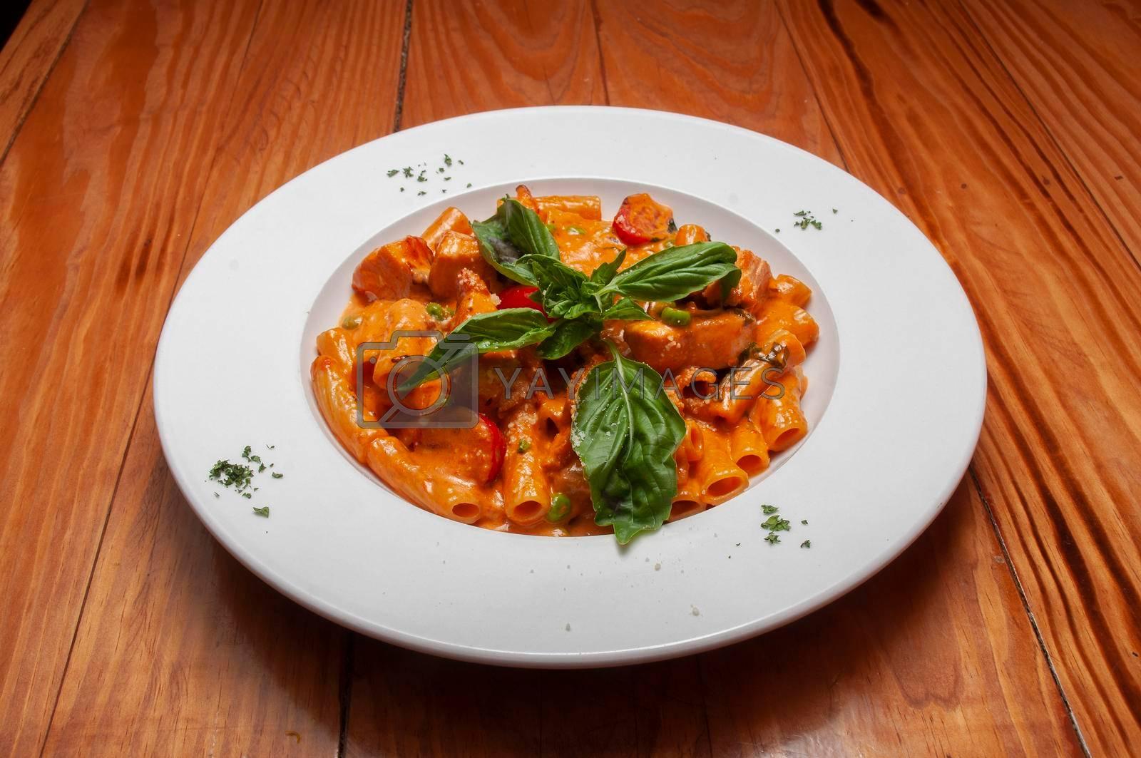 Delicious Italian dish known as Penne Alla Vodka