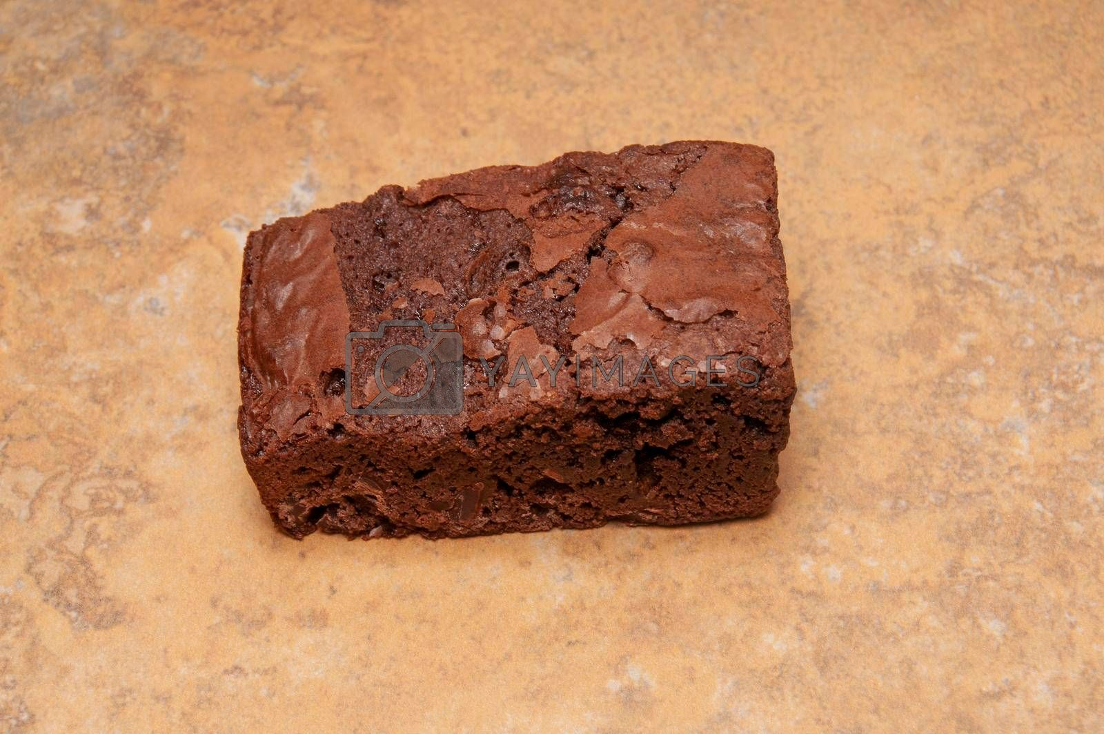 Delicious bakery product known as the chocolate brownie
