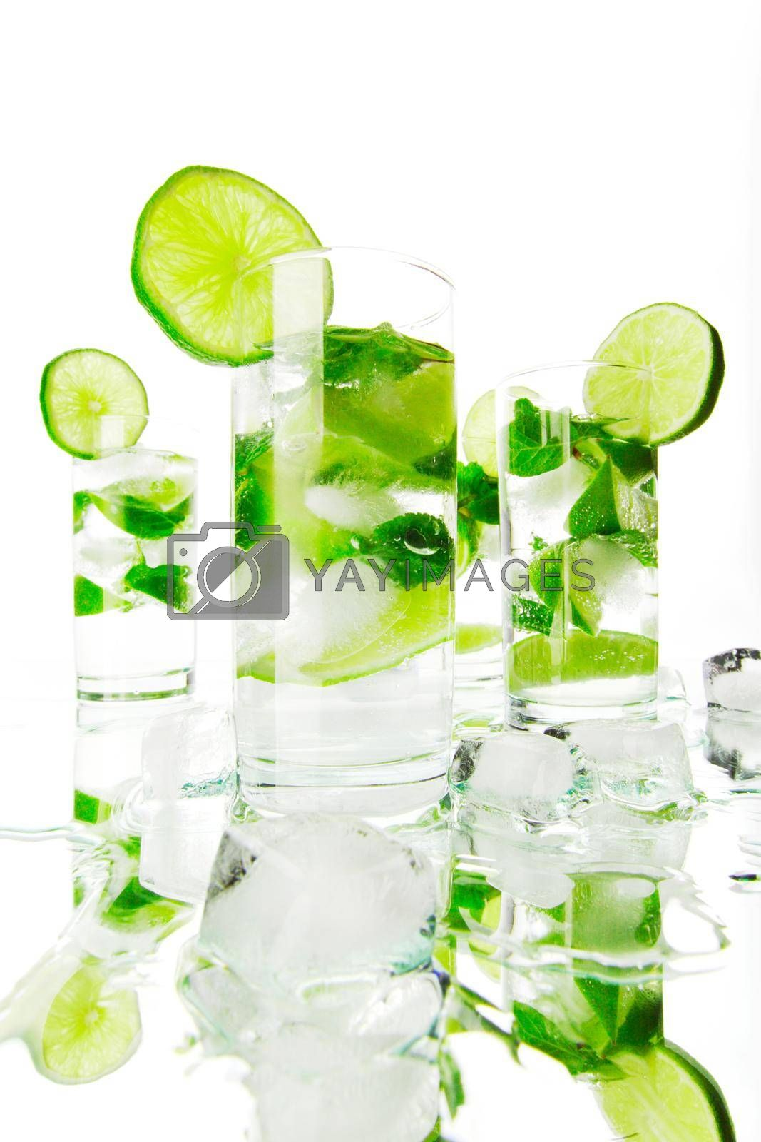 Royalty free image of Mojito cocktails by Yellowj