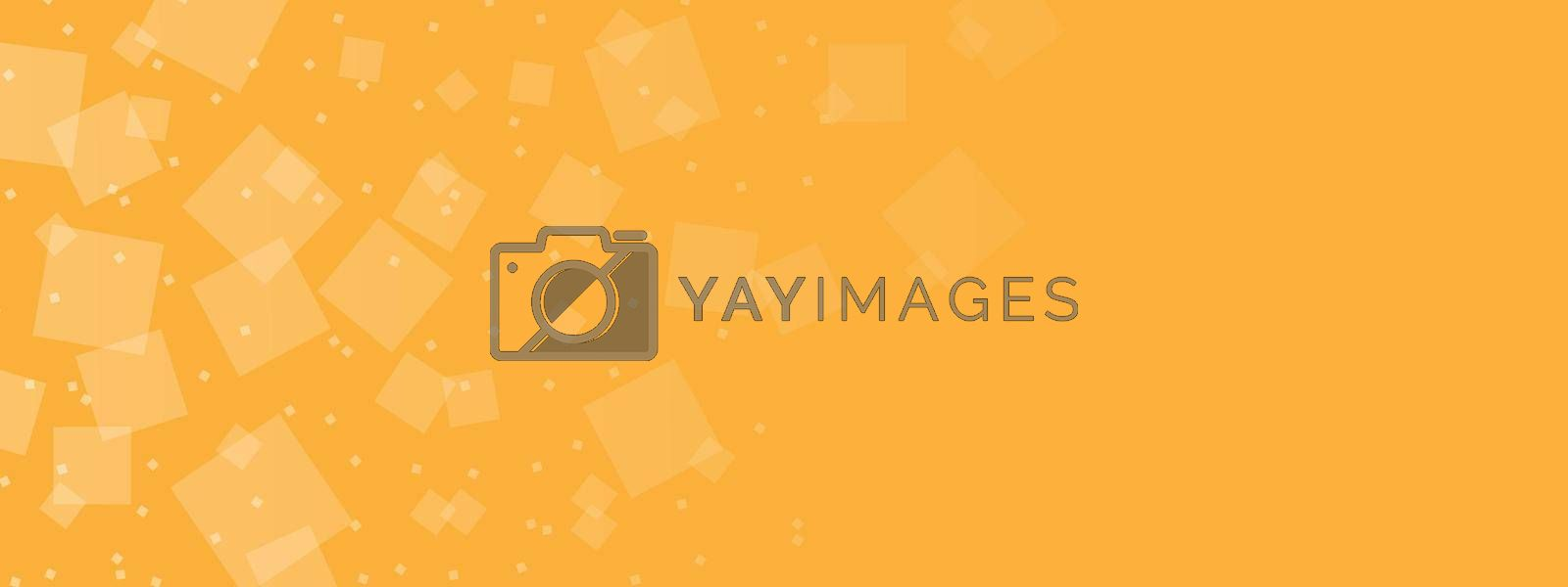 Royalty free image of Abstract background in orange tones for banners, posters, postcards and creative design for texture, textiles, packaging and simple backgrounds by Grommik
