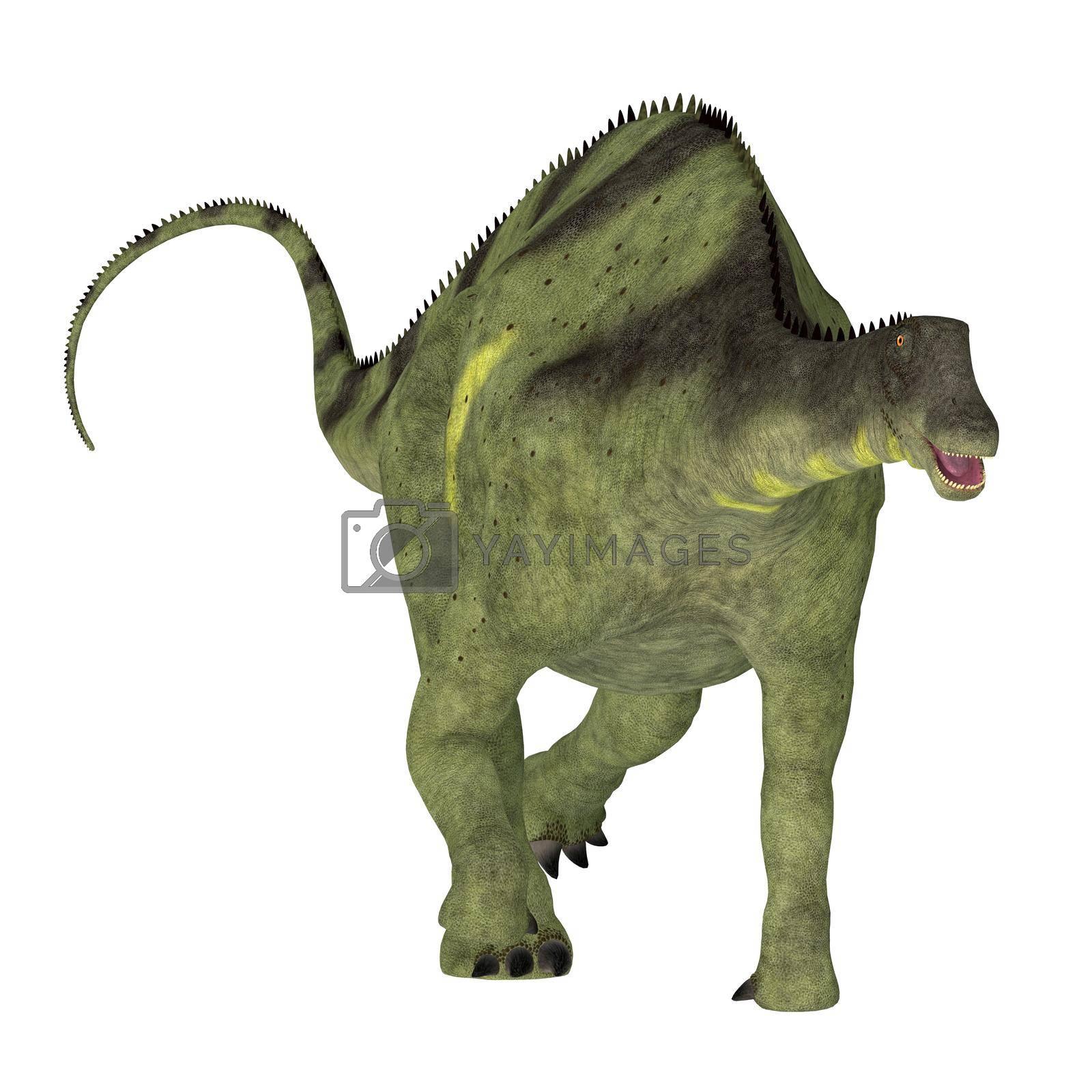 Brachytrachelopan was a sauropod herbivorous dinosaur that lived in Argentina during the Jurassic Period.