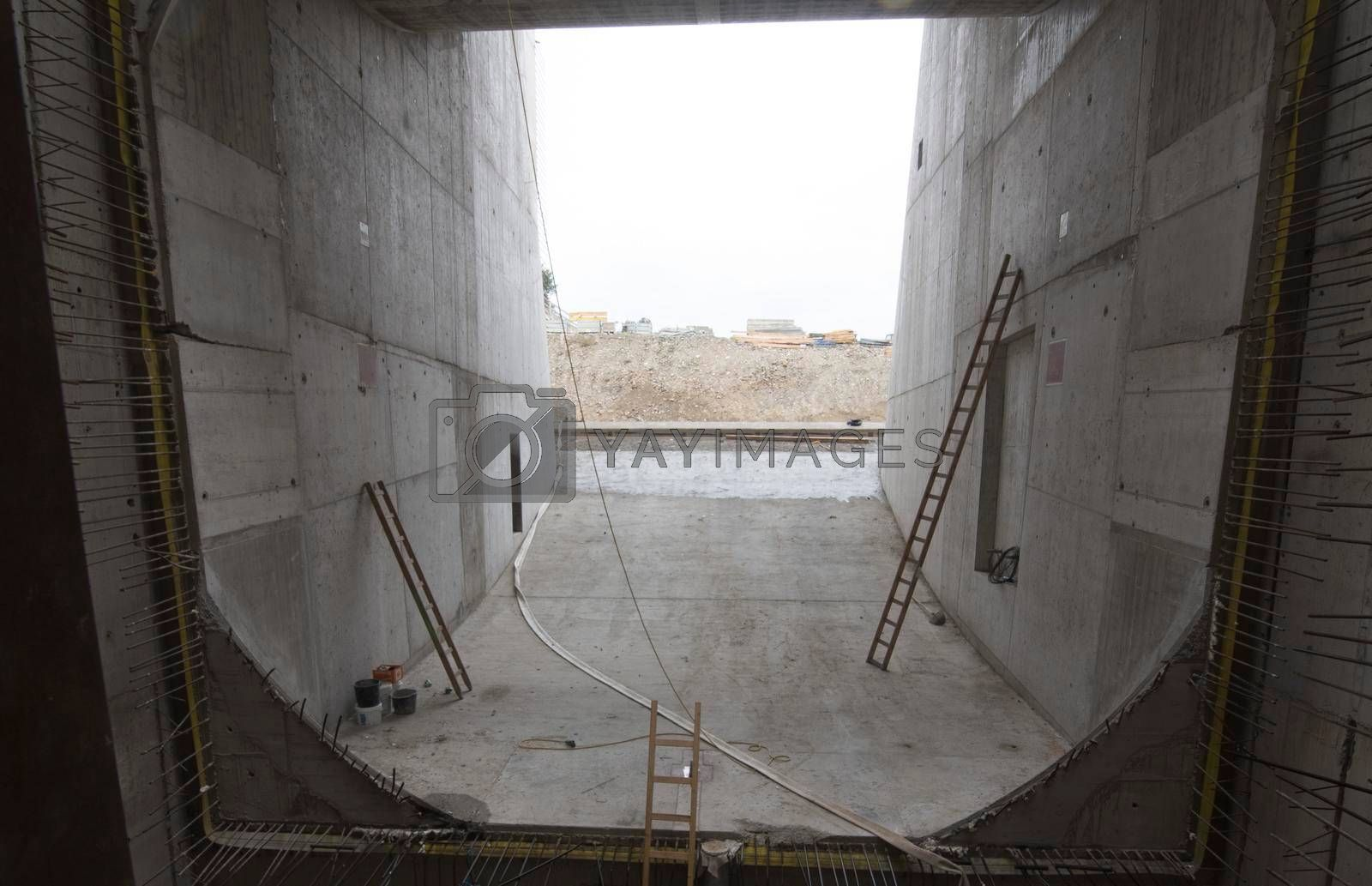 sewer construction in hydraulic engineering for water and waste water supply