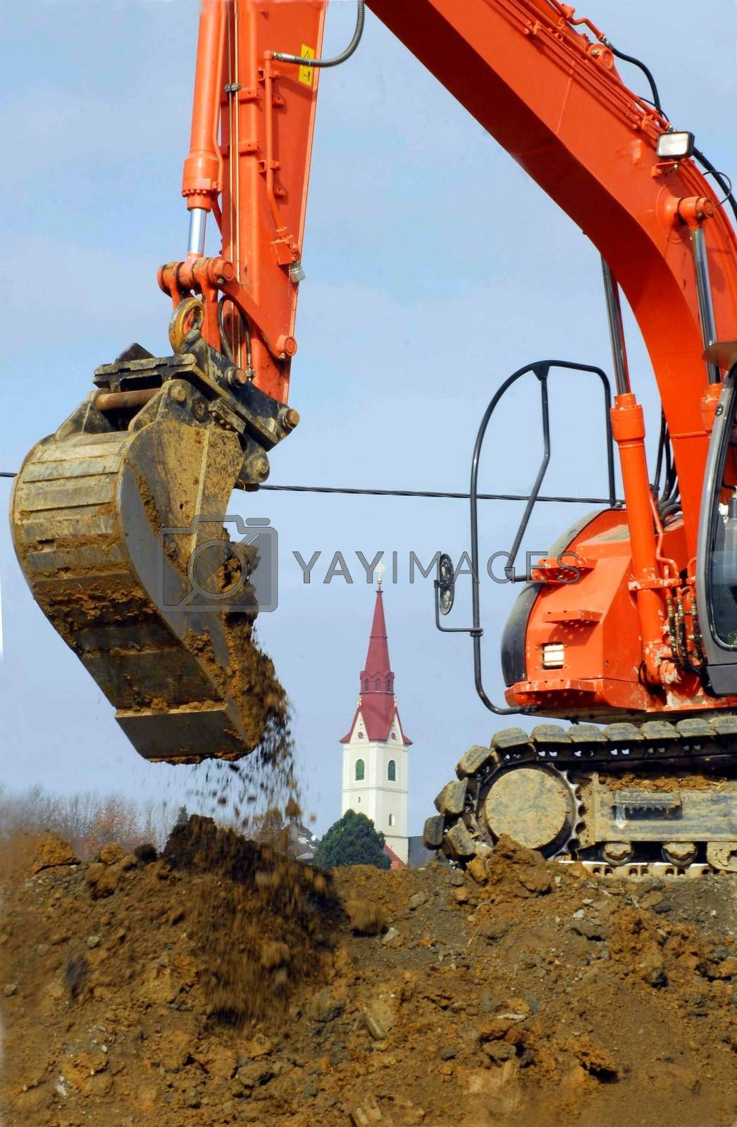 village renewal in the countryside through building and construction works