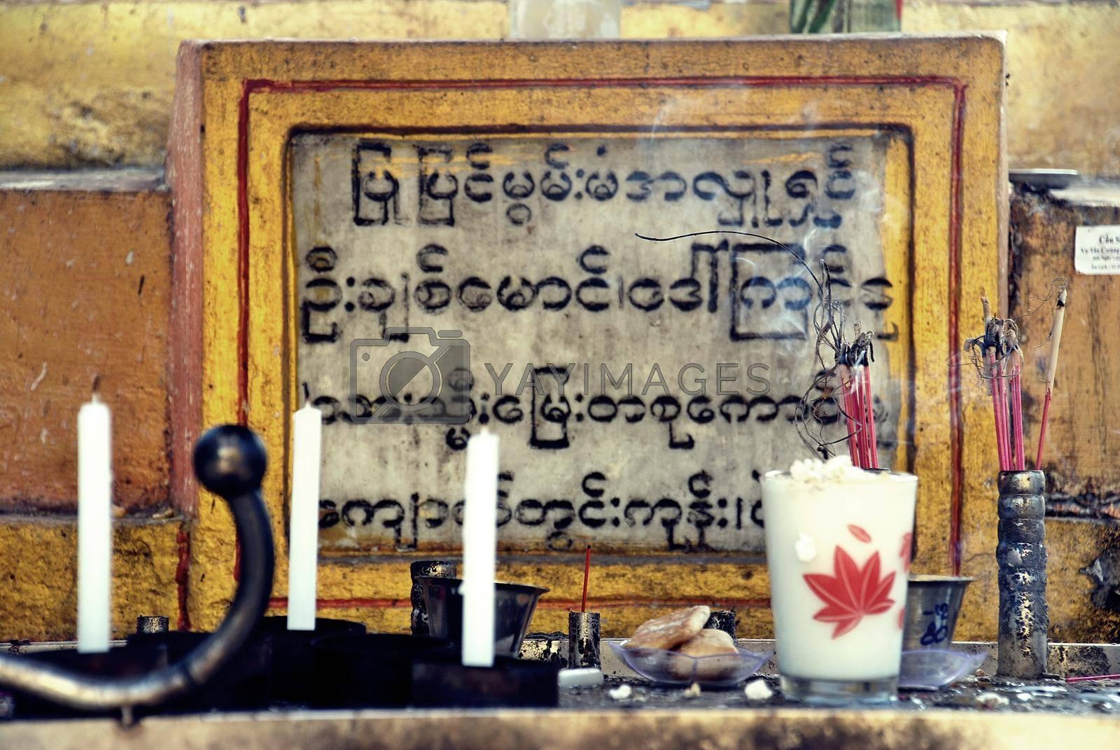 Faith and worship in Myanmar
