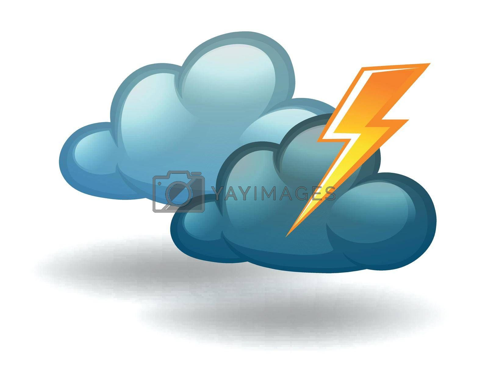 Royalty free image of A weather with thunder by iimages