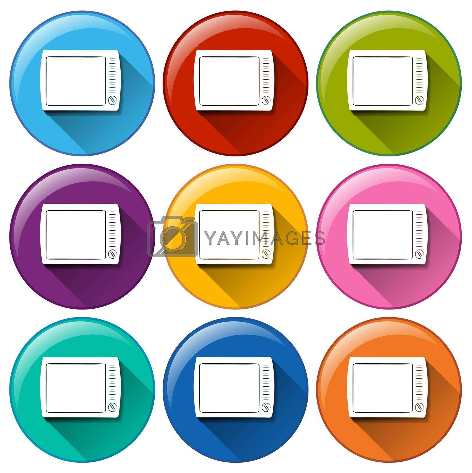 Royalty free image of Technology icons by iimages