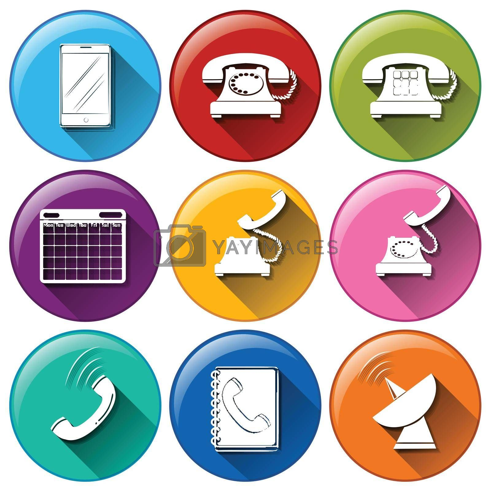 Royalty free image of Communication icons by iimages