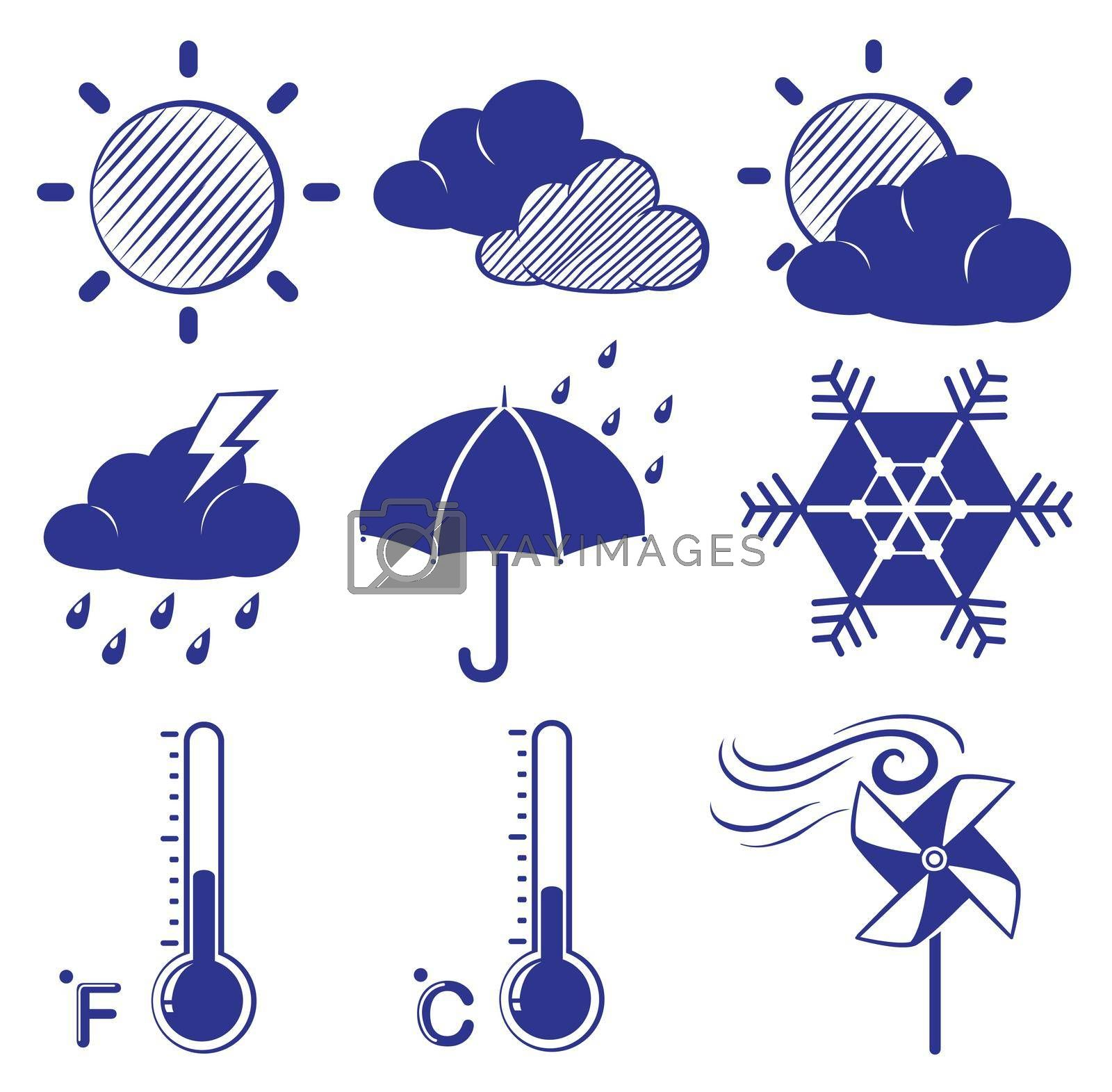 Royalty free image of Different weather conditions by iimages