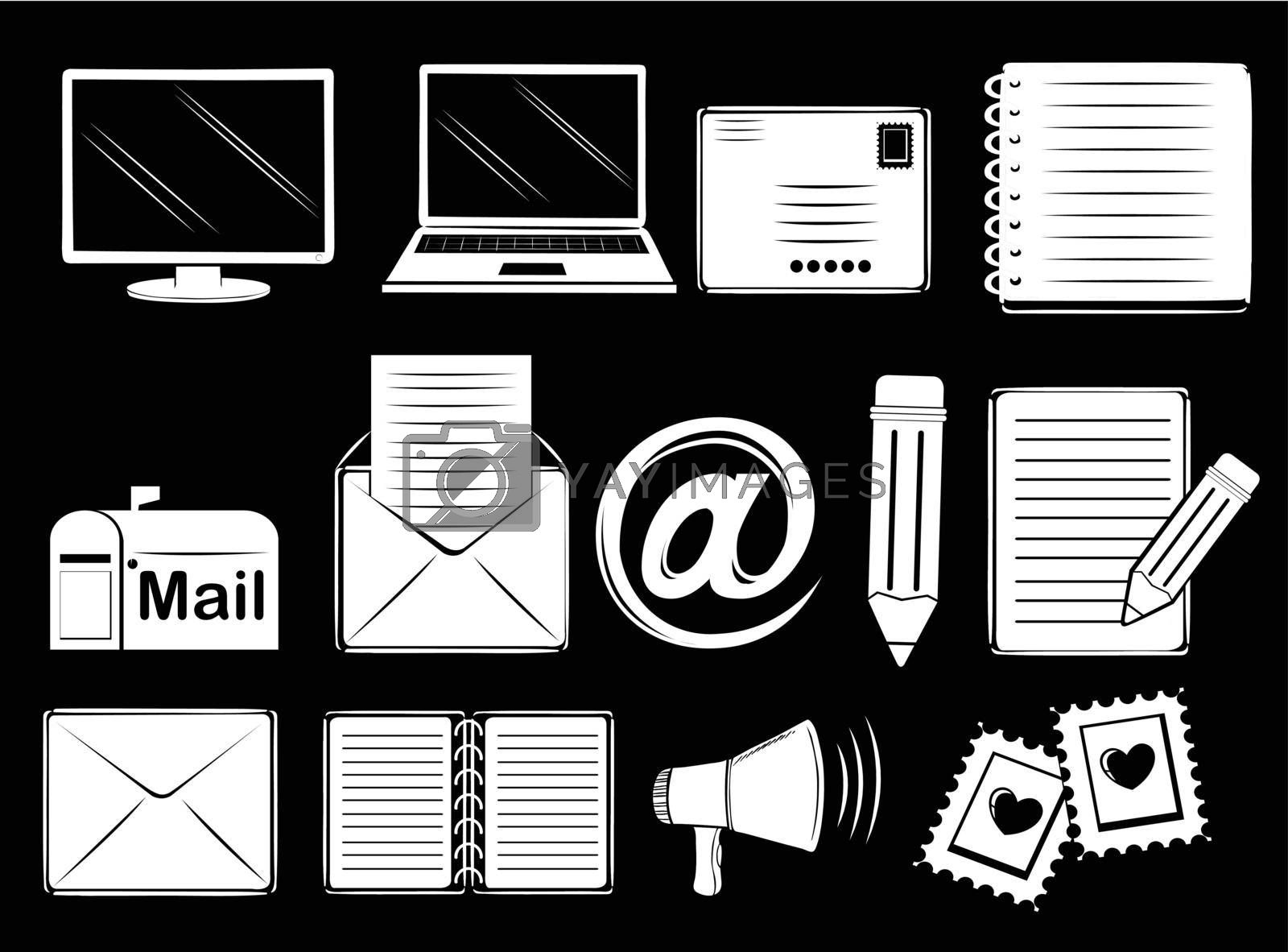 Royalty free image of Different communication tools by iimages