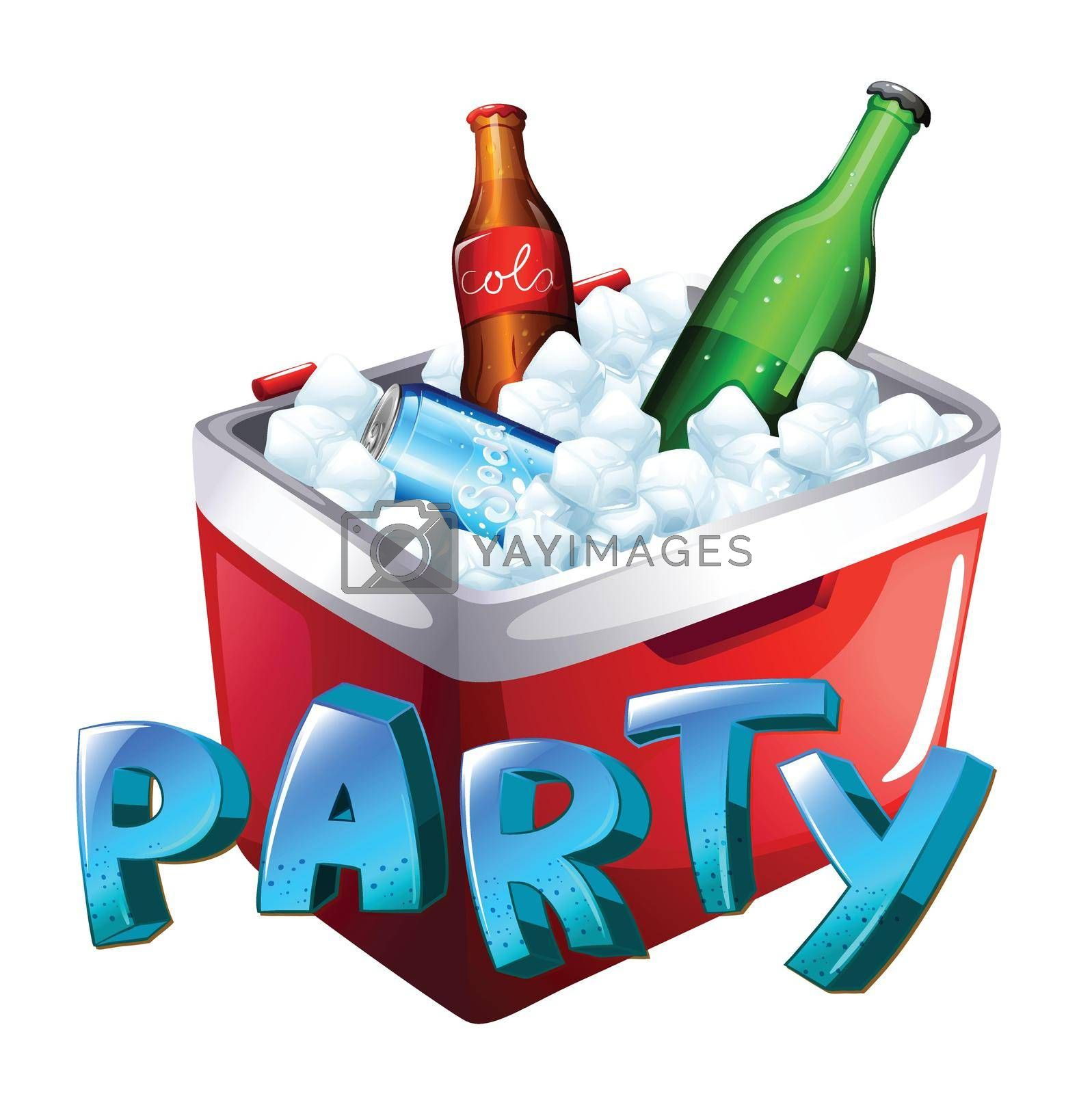 Royalty free image of A party celebration by iimages