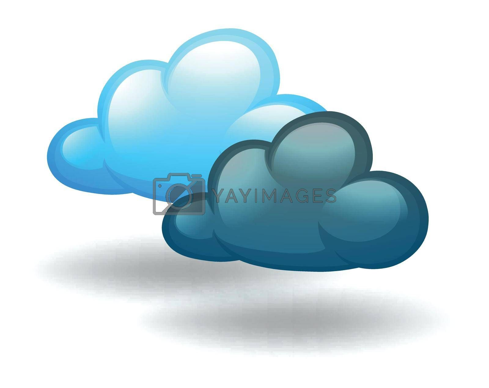 Royalty free image of Cloudy weather by iimages