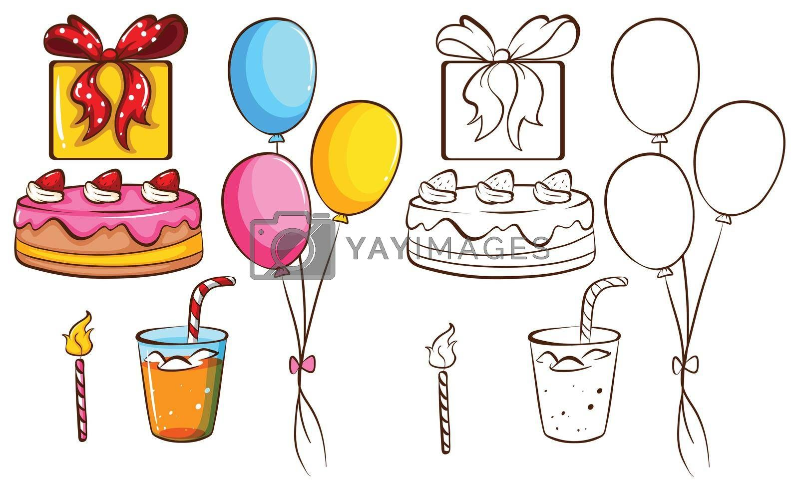 Royalty free image of A birthday celebration by iimages