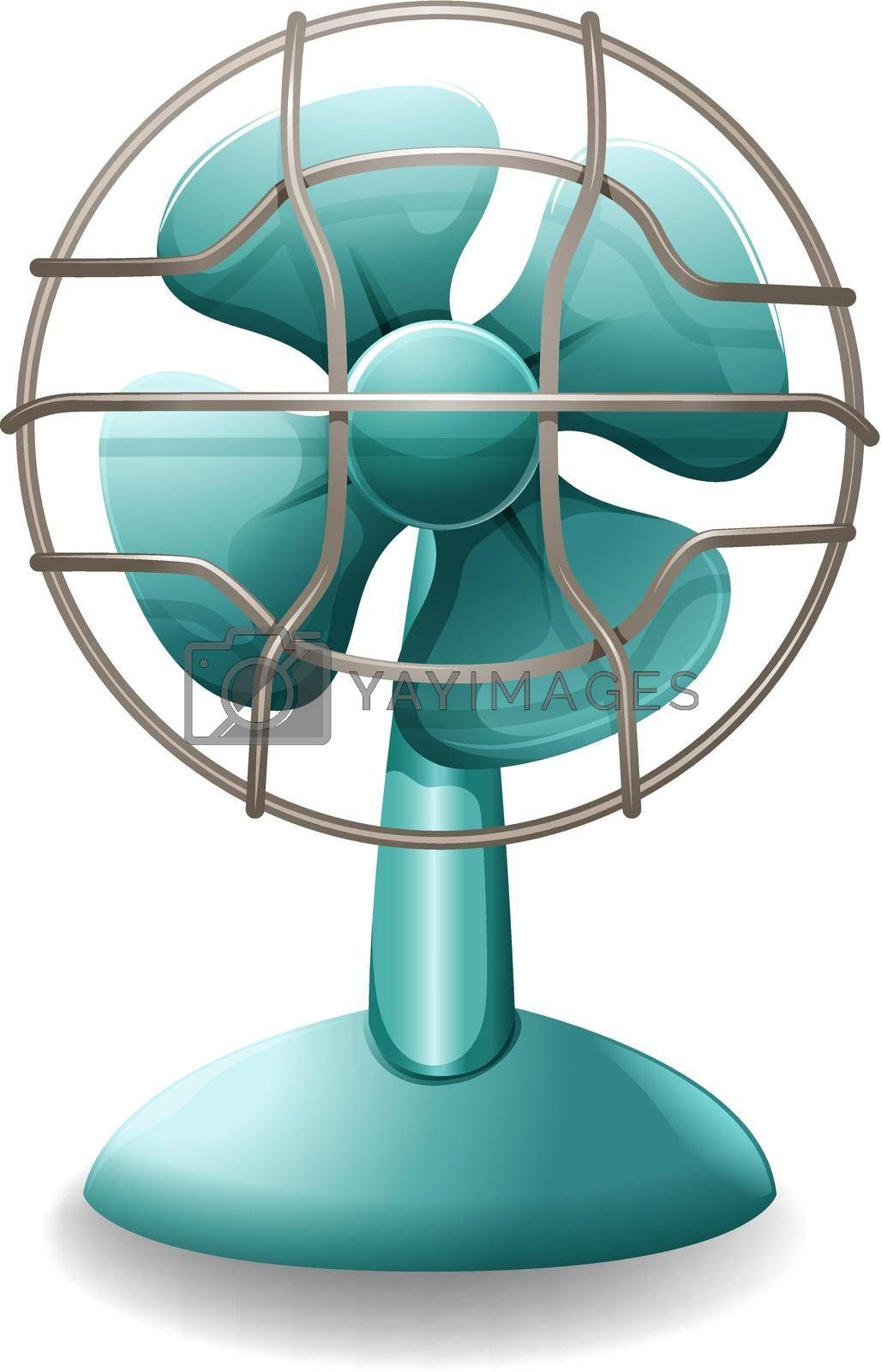 Royalty free image of Electric fan by iimages