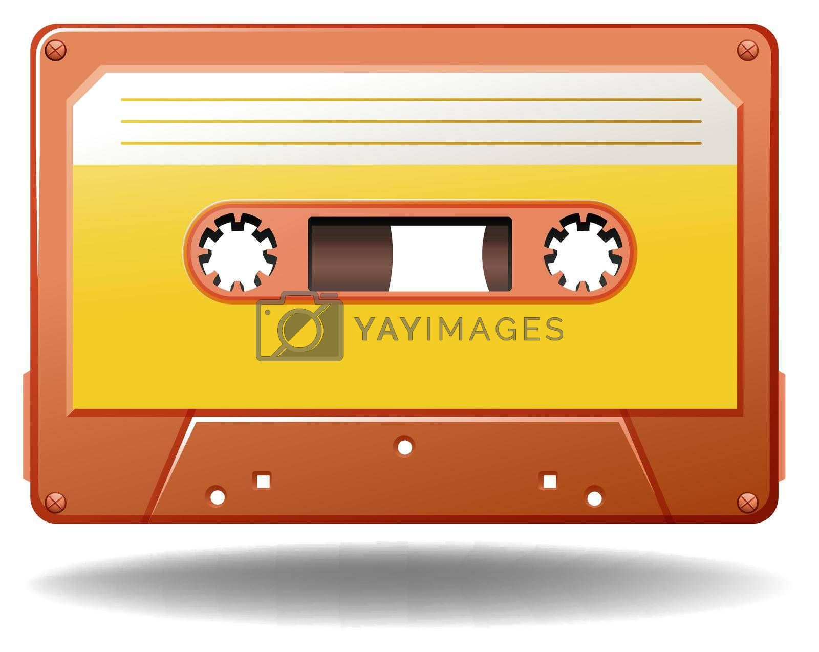 Royalty free image of Cassette by iimages
