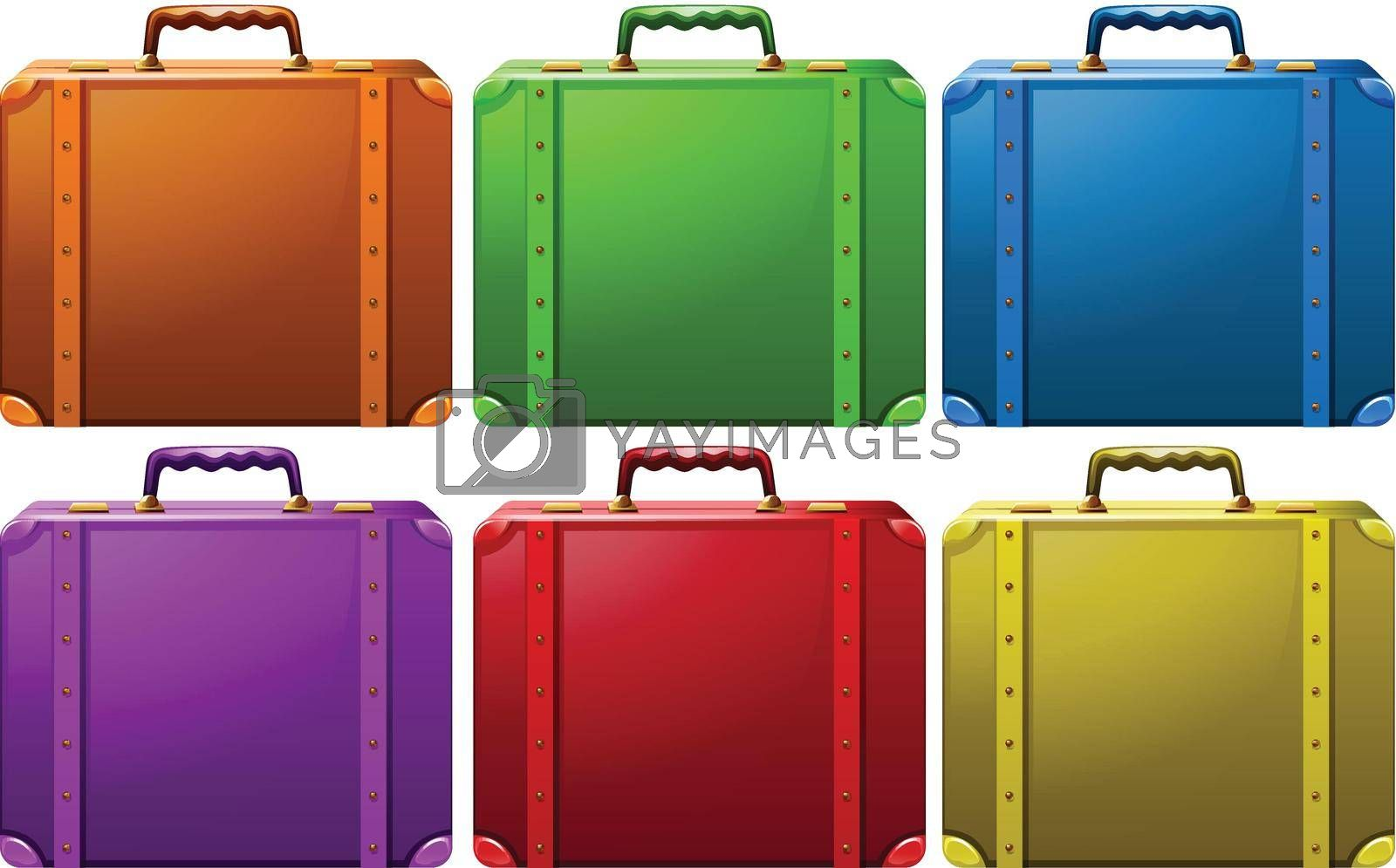 Royalty free image of Suitcases by iimages