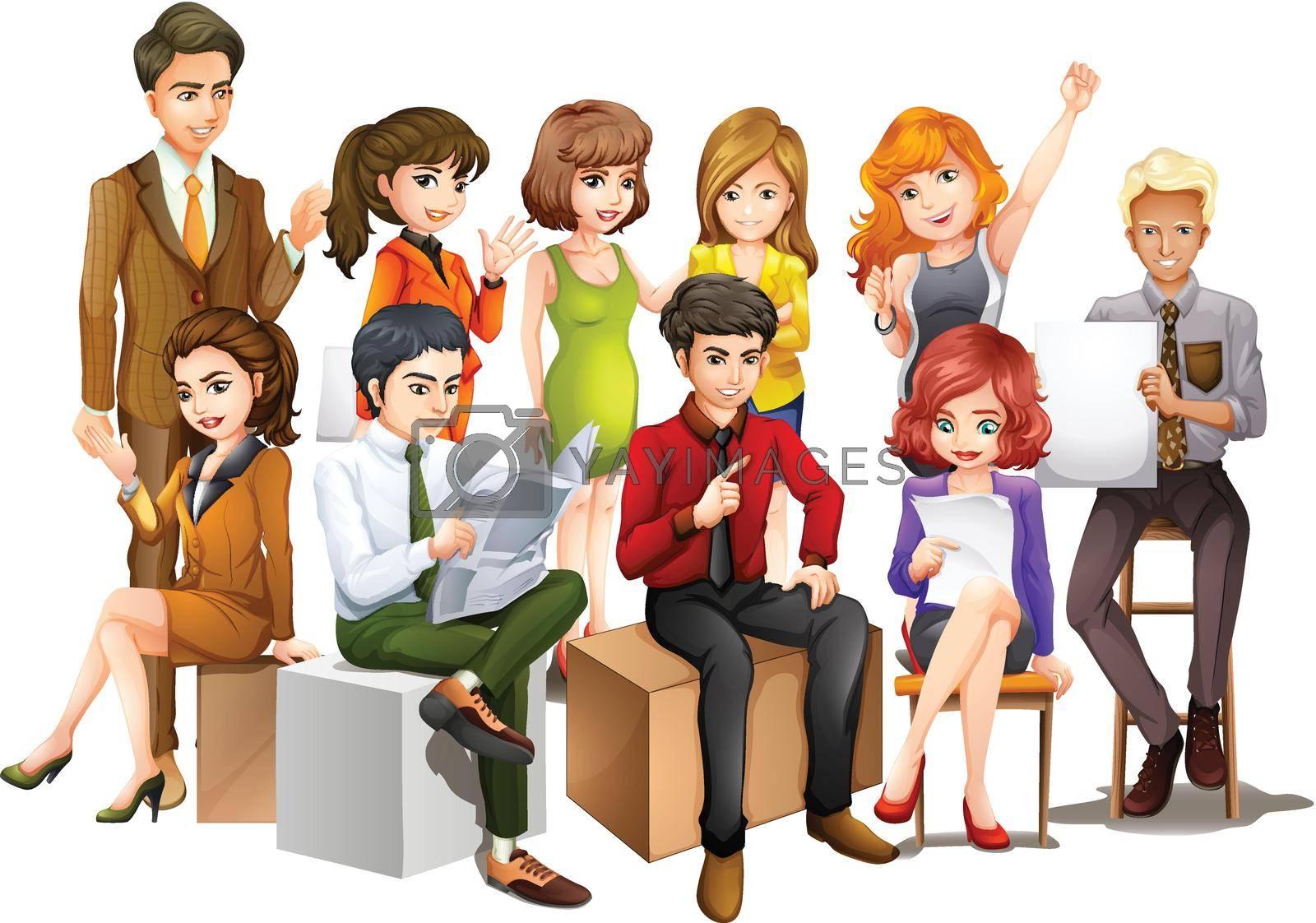 Royalty free image of People by iimages