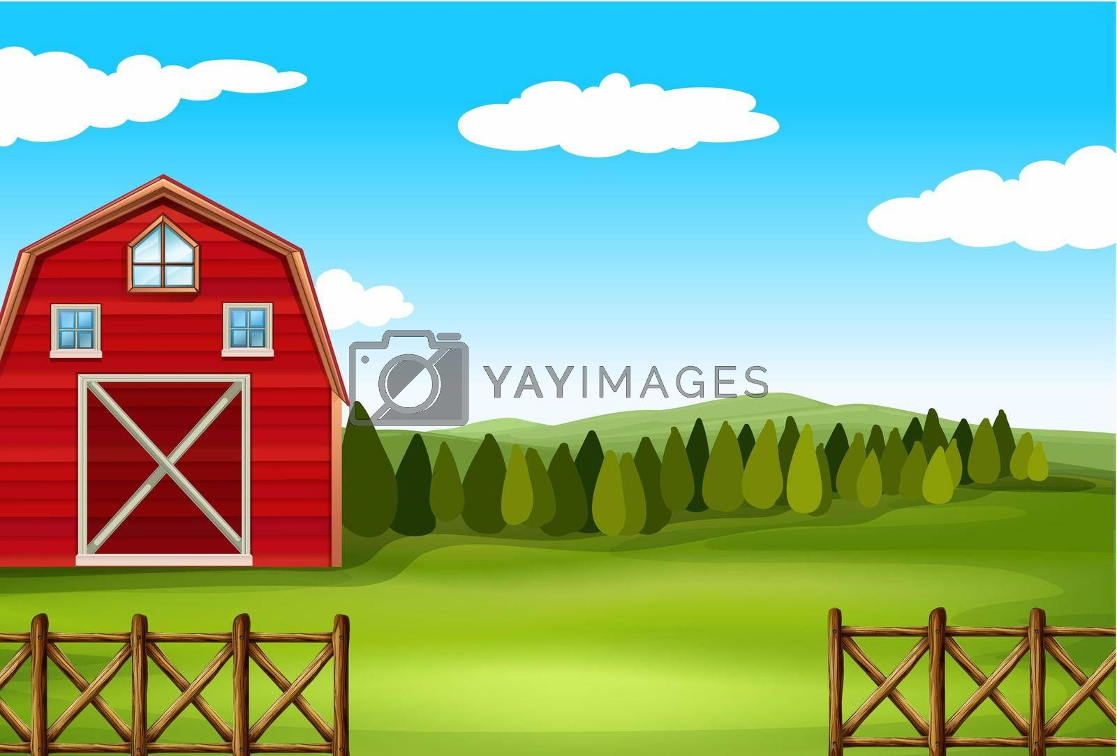 Royalty free image of A farm by iimages
