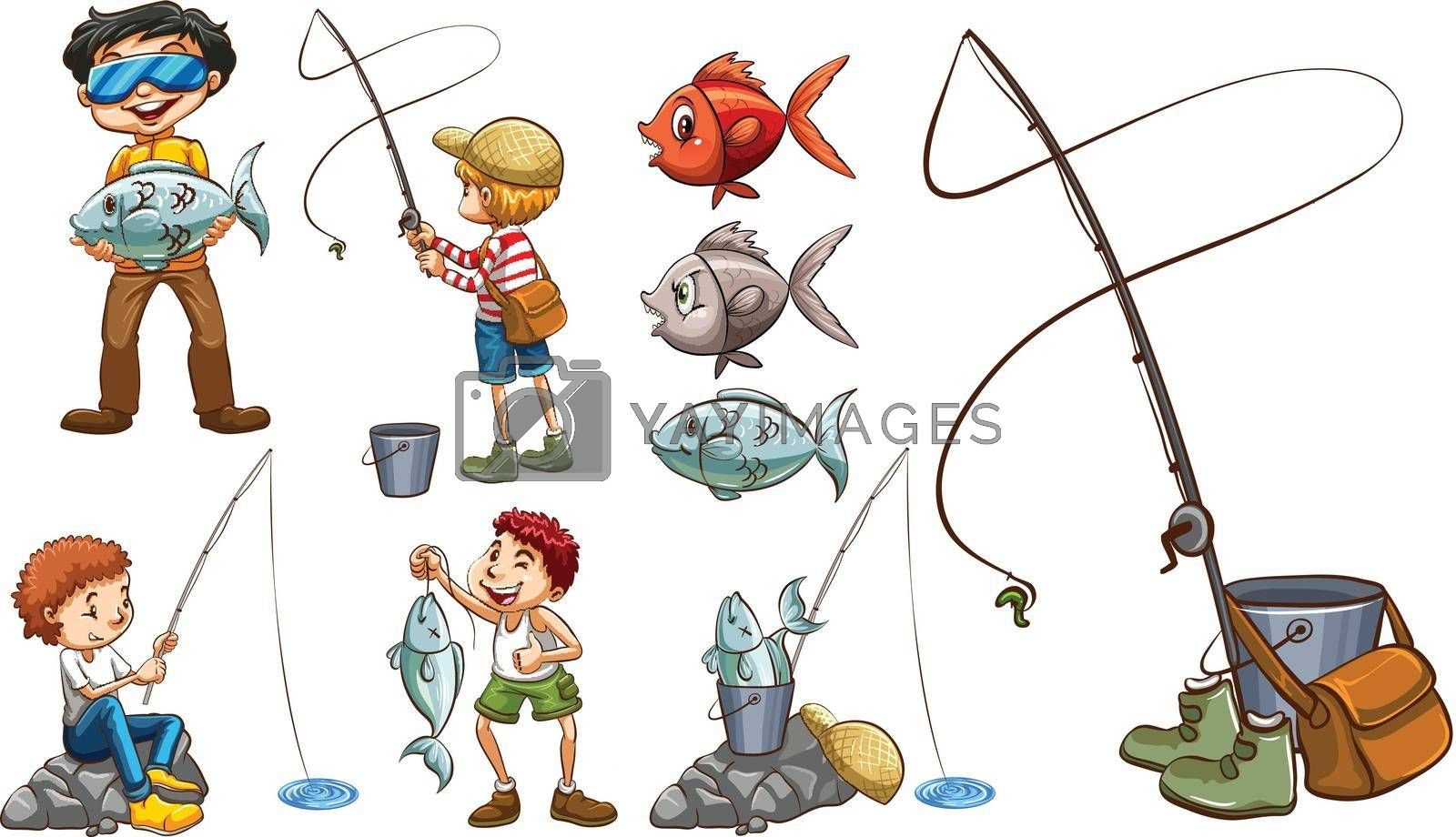 Royalty free image of People with the same hobby by iimages