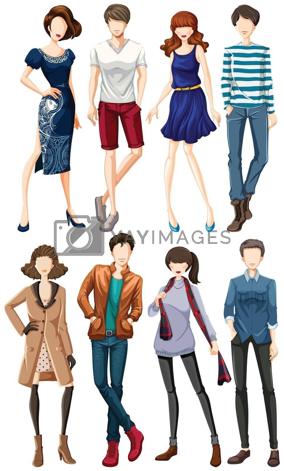 Royalty free image of Fashion by iimages