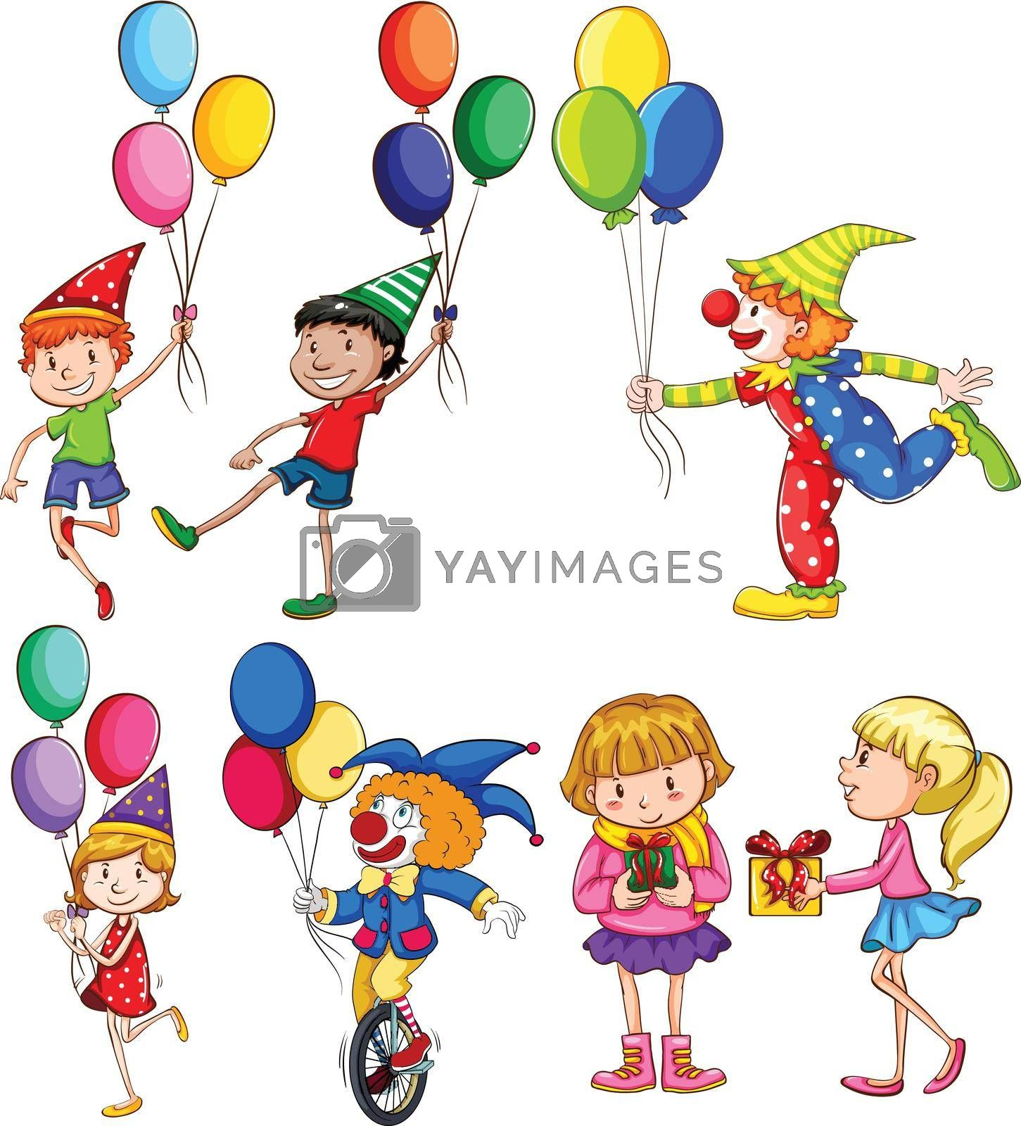 Royalty free image of People in a party by iimages