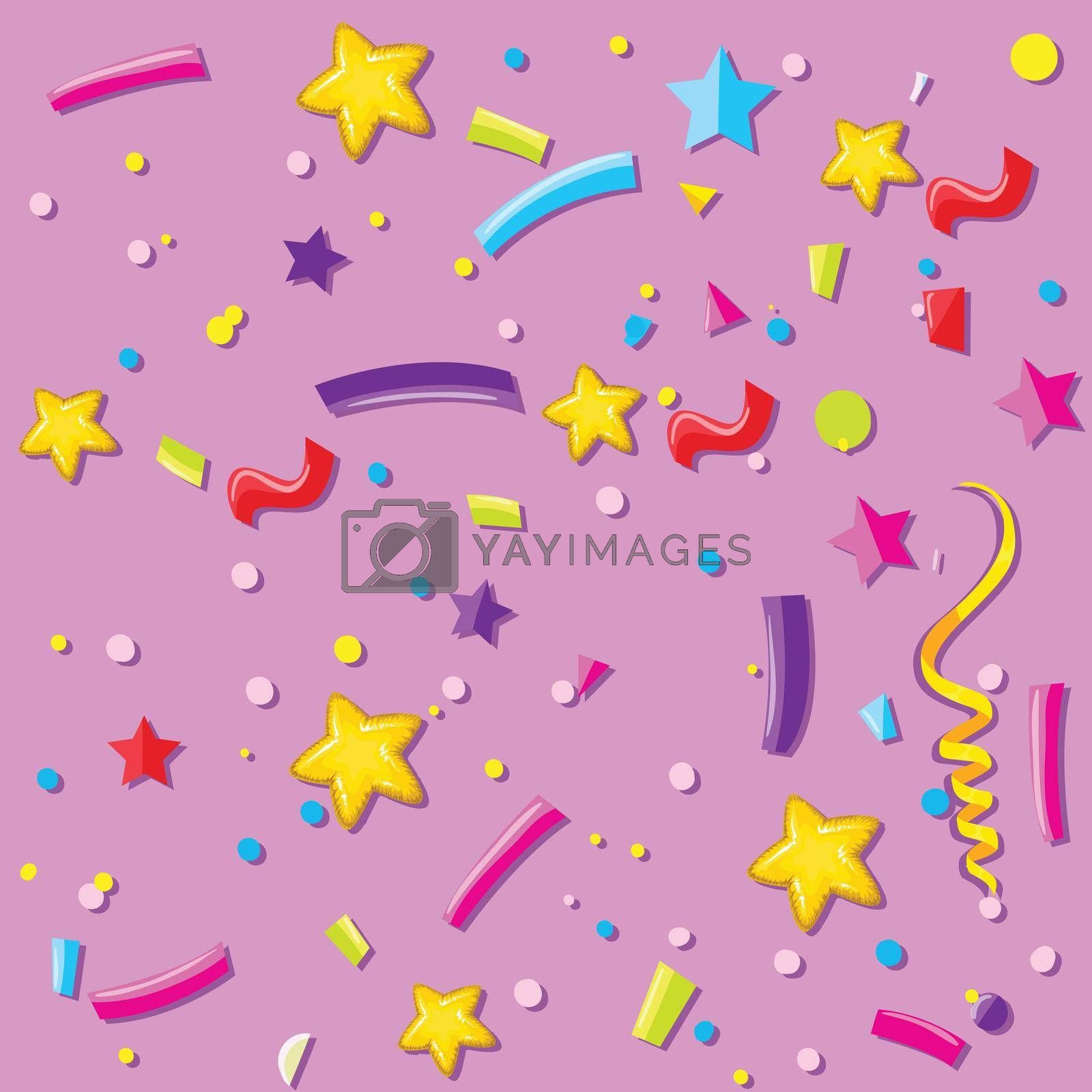 Royalty free image of A party celebration background by iimages