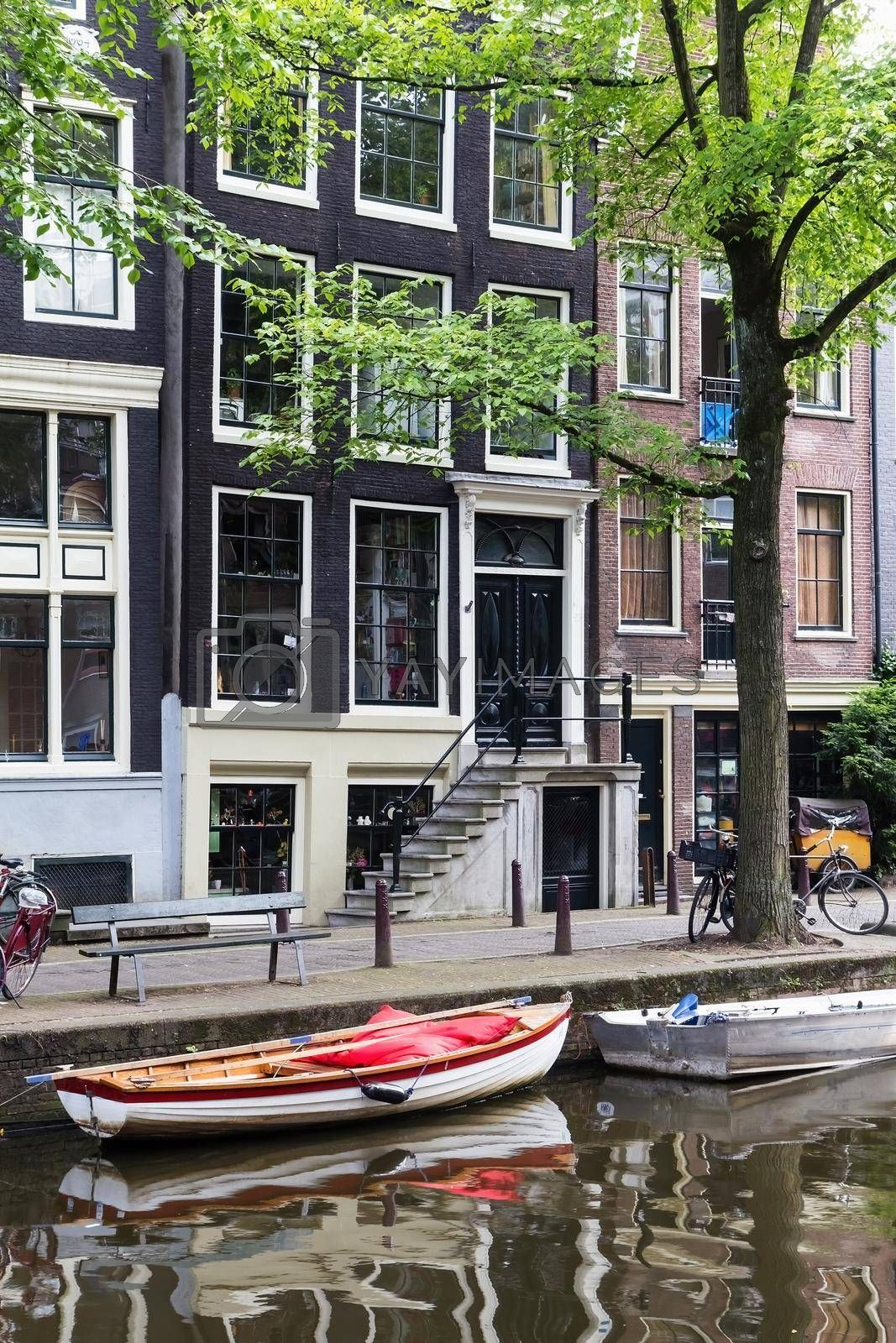 Royalty free image of Architecture in Amsterdam (Netherlands) by Frank11