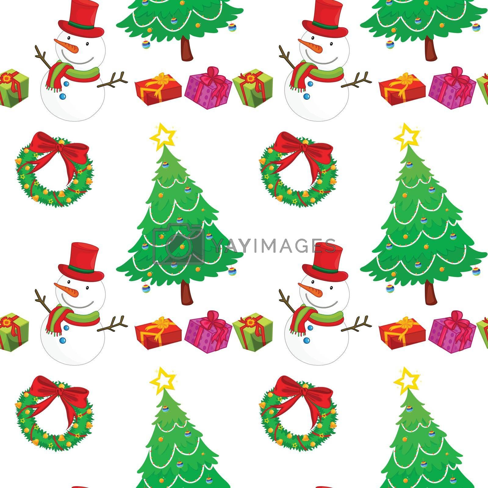 Royalty free image of christmas celebration accessories by iimages