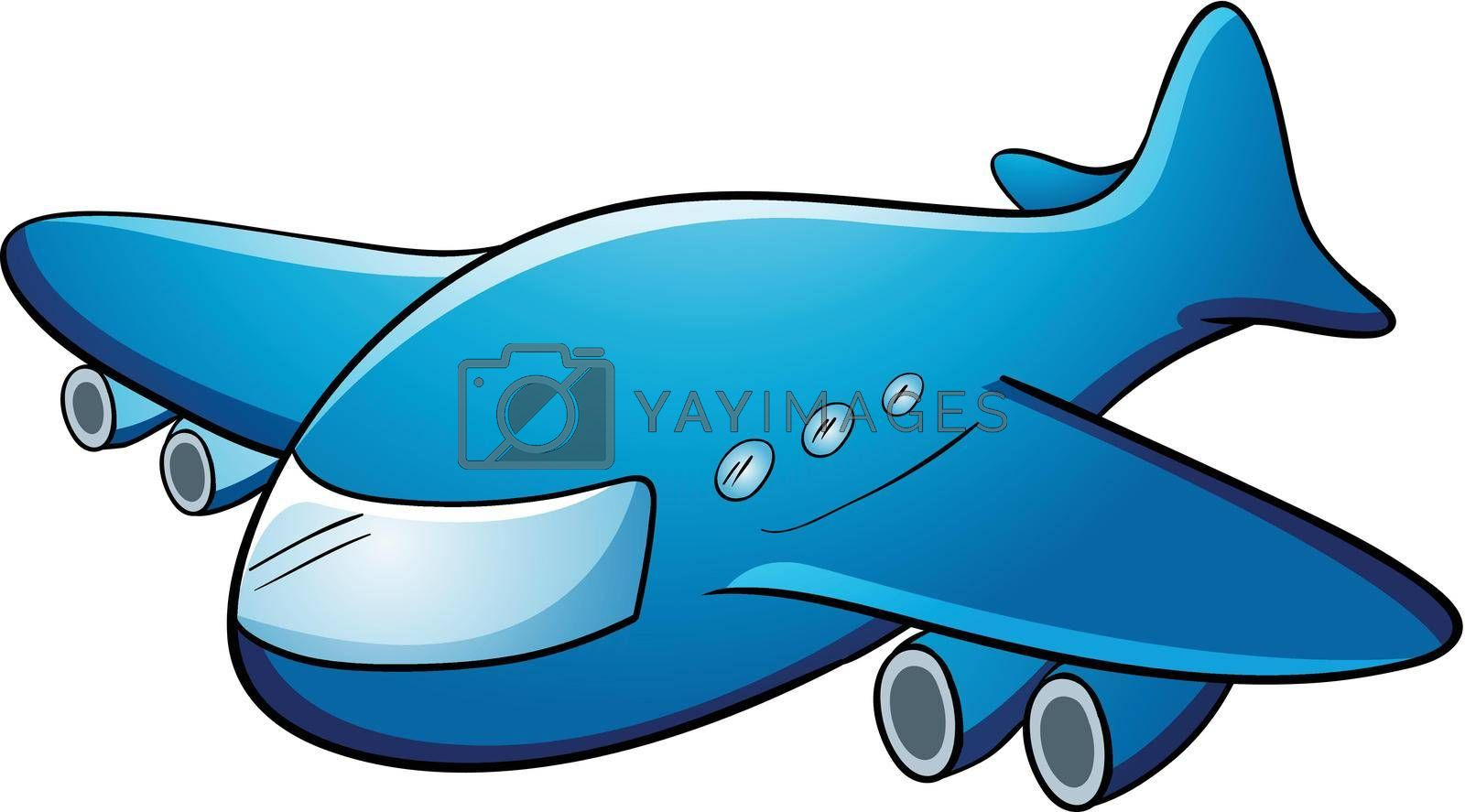 Illustration of a jumbo jet