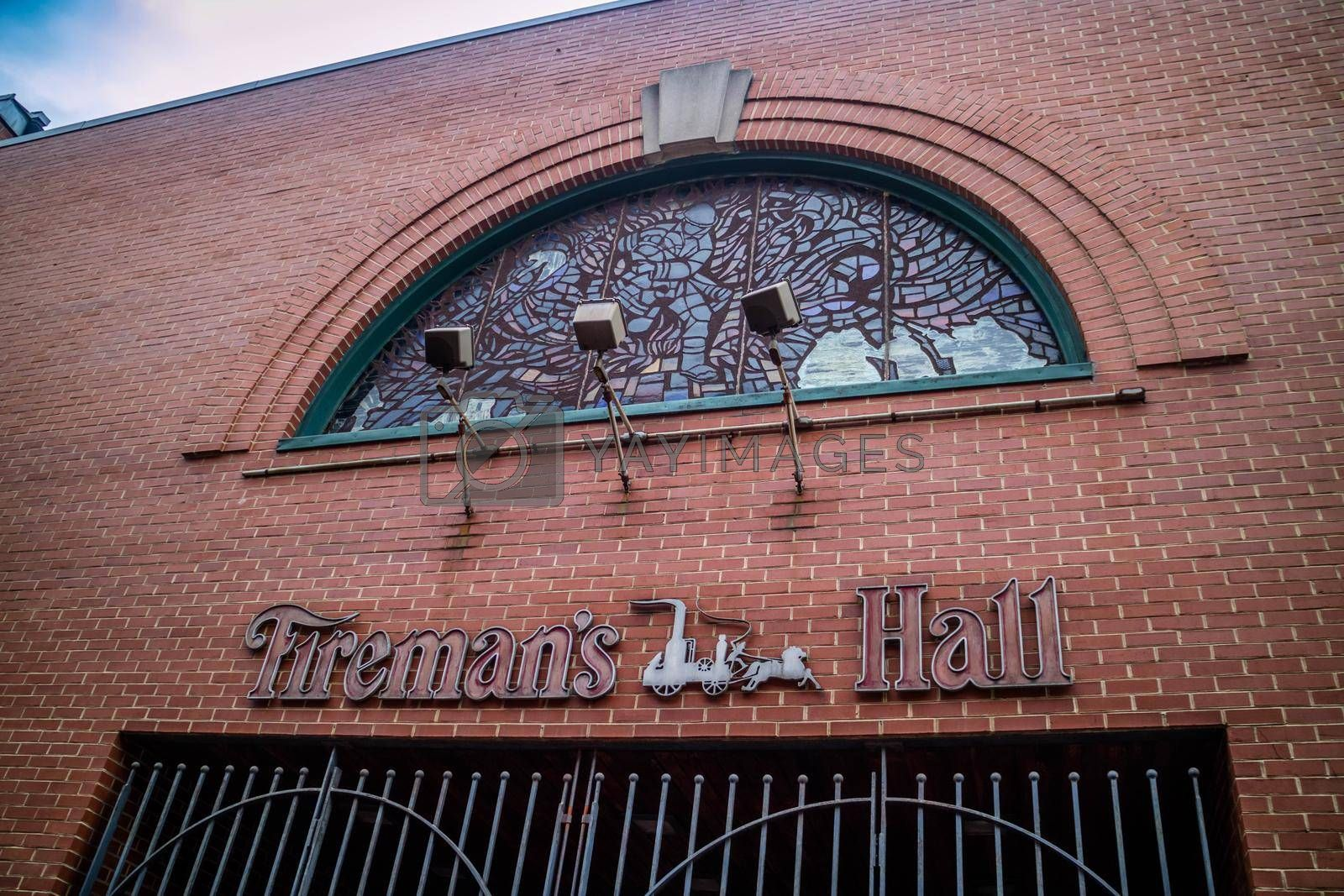 Royalty free image of Pennsylvania, PA, USA - Sept 22, 2018: The preservation of Philly Fireman Hall Museum by cherialguire