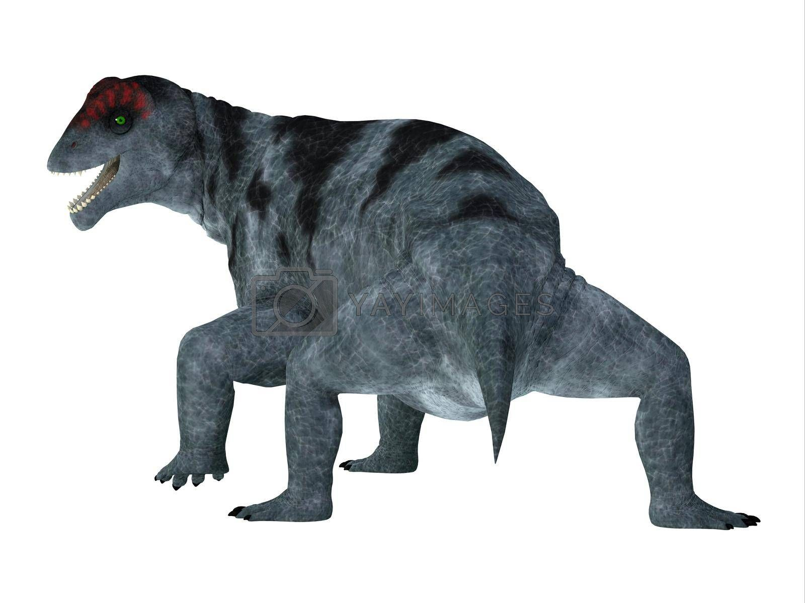 Royalty free image of Moschops Dinosaur Tail by Catmando