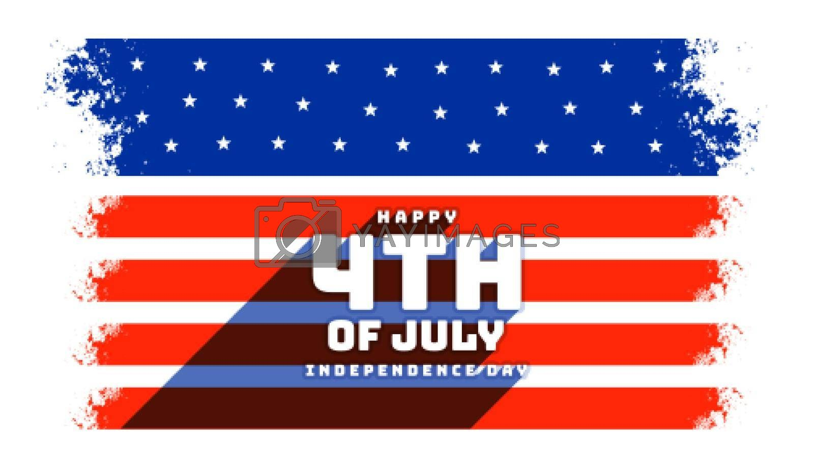 4th of july independence day celebration background