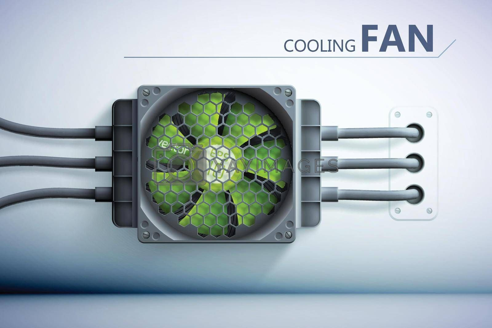 Royalty free image of Cooling Technology Background by mstjahanara